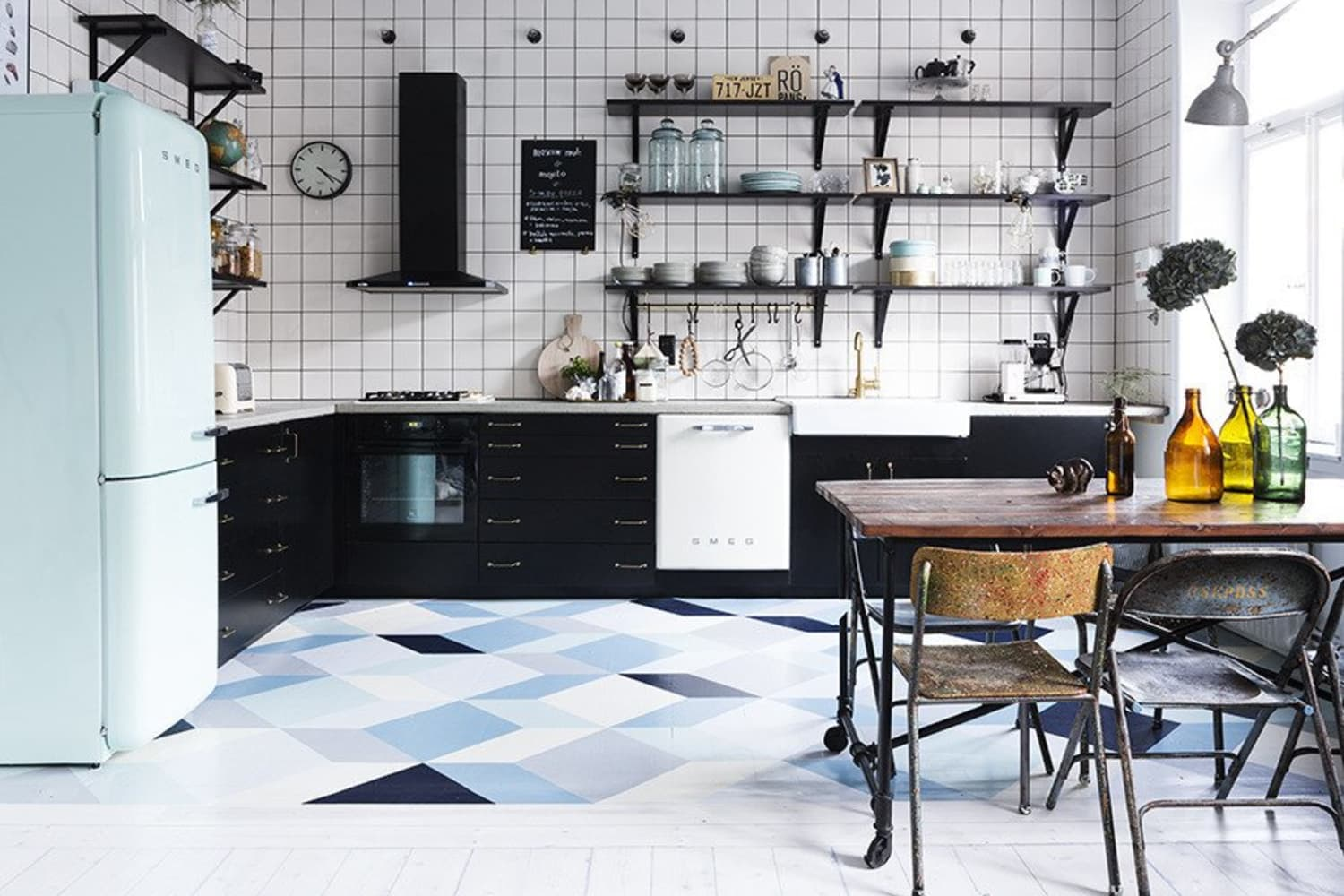 The World's Most Beautiful Kitchen Floors