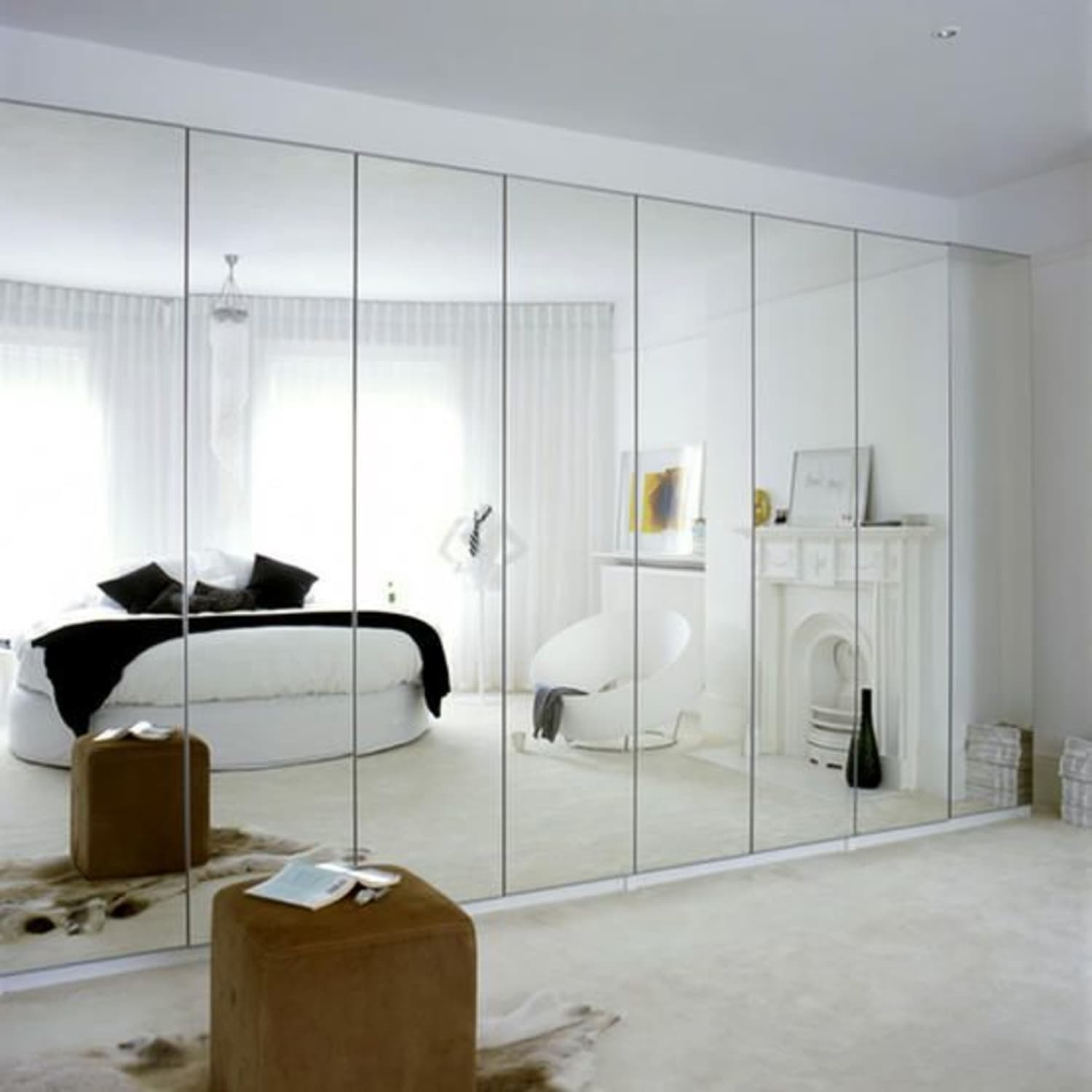 Plagued With Dated Mirrored Walls? 5 Design Ideas To Make