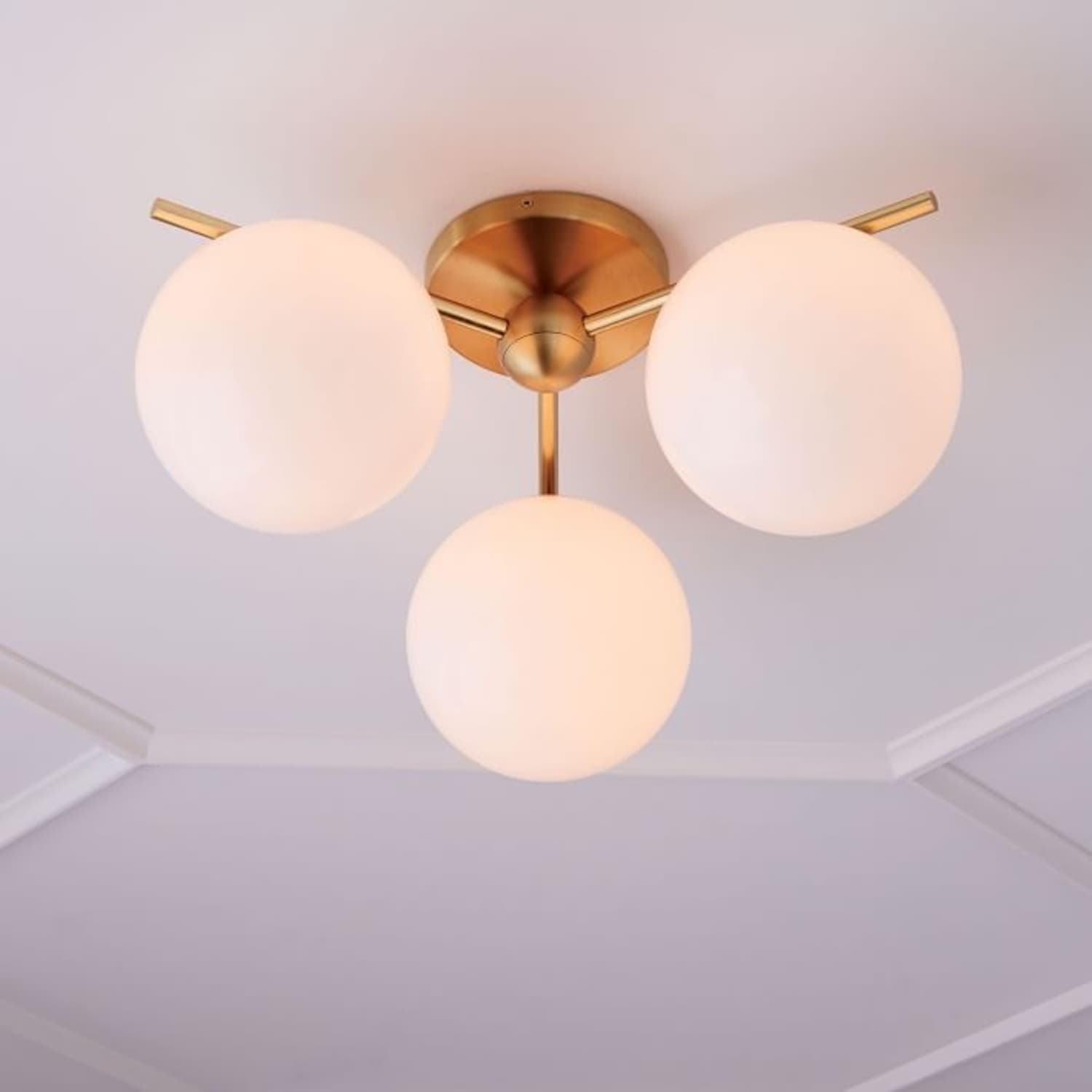 Best Modern Flush-Mount Ceiling Light Fixtures  Apartment Therapy