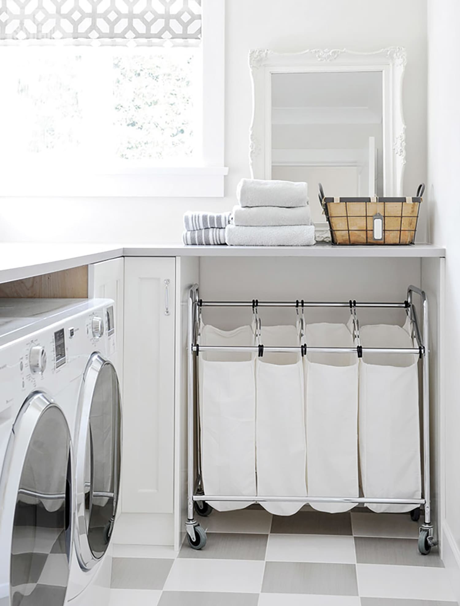- Clever Ideas To Make The Most Of A Small Laundry Room Apartment