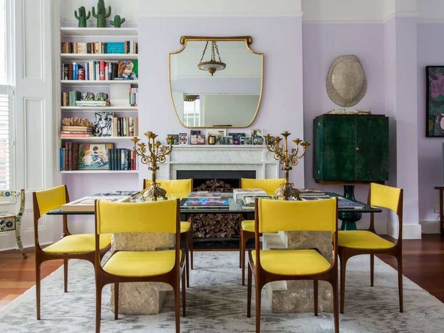 glamorous mustard yellow color living room | 2018 Room Color Trends - Lavender, Mustard Yellow ...