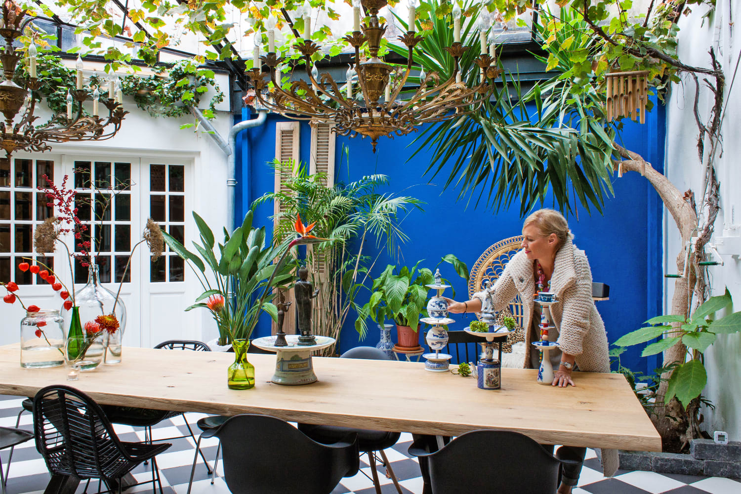 House Tour A Tropical Oasis In The Netherlands