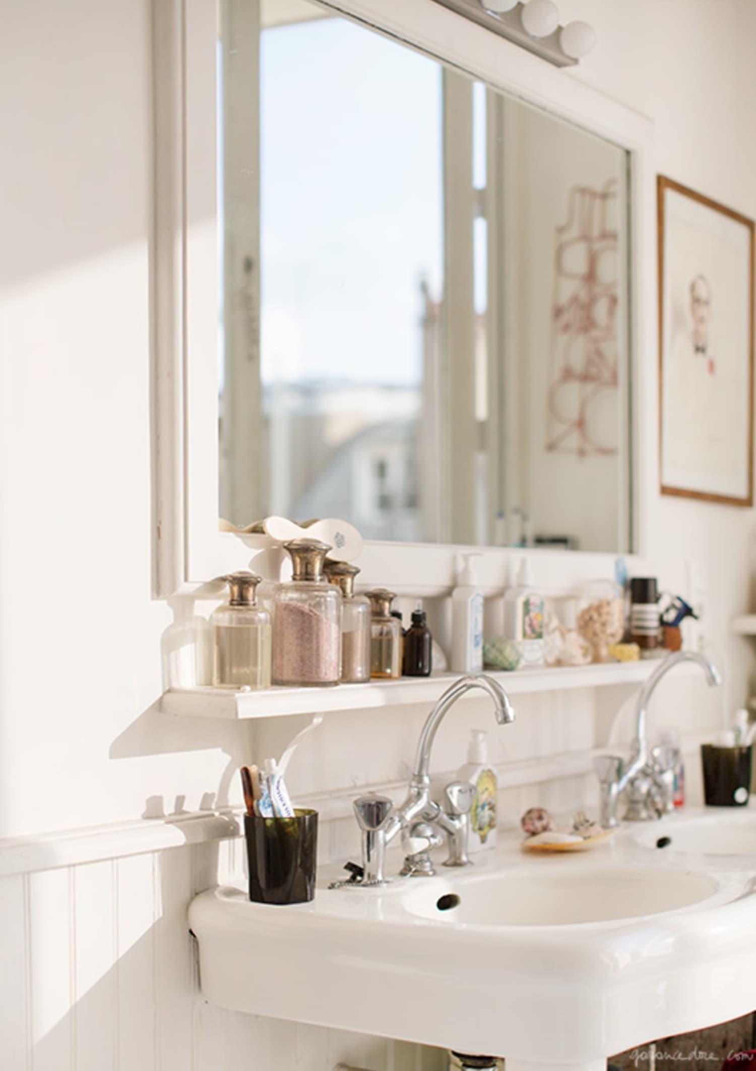 Small Bathroom Best Wall Shelves Storage Ideas Apartment