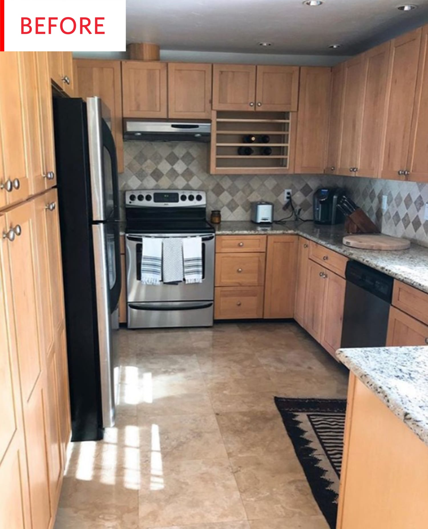 Before and After: A $900 Redo Made This Kitchen Look Twice as Big
