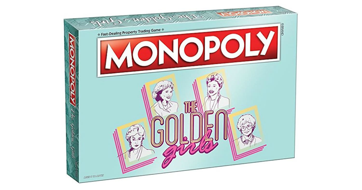 You can now buy a golden girls edition of monopoly - Can you buy an apartment ...