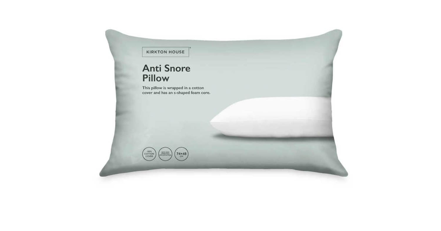 Aldi UK Just Brought Back Their Famous Anti-Snoring Pillow