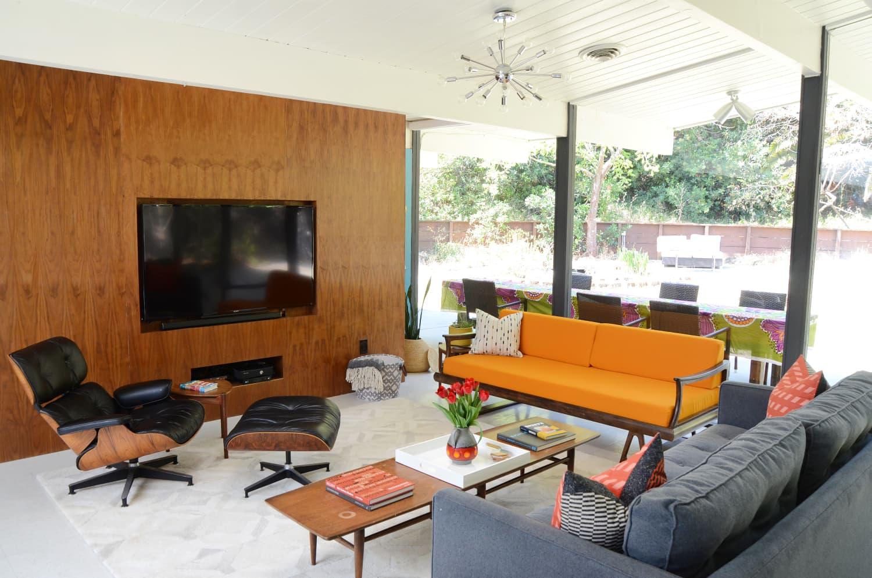 Cheap stylish mid century modern decor from amazon - Mid century modern decor on a budget ...