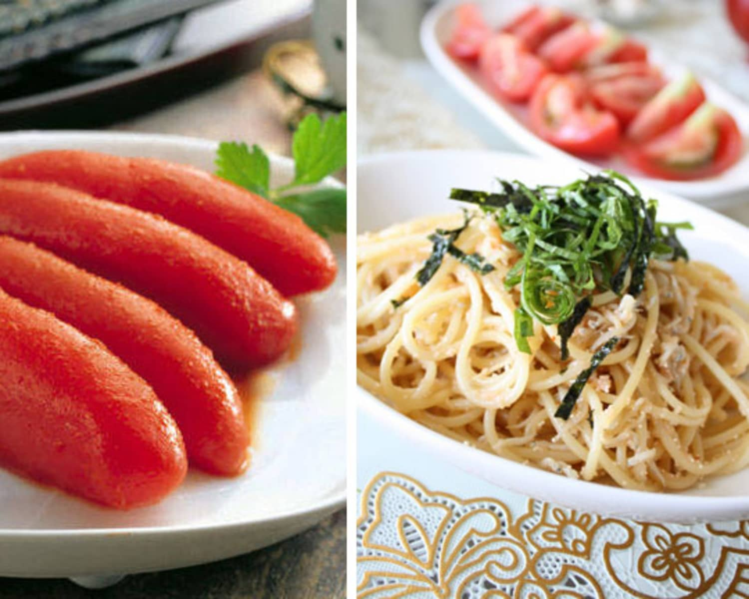 East Meets West Mentaiko Pasta Kitchn