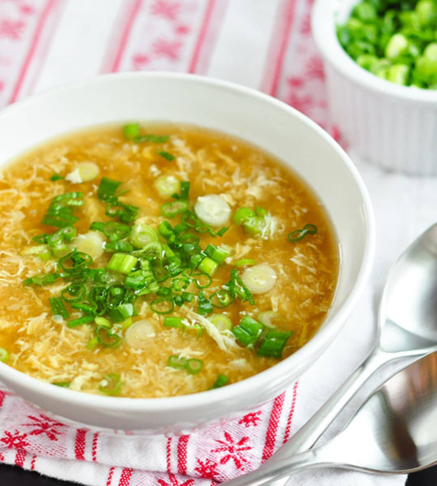 How To Make Egg Drop Soup Kitchn