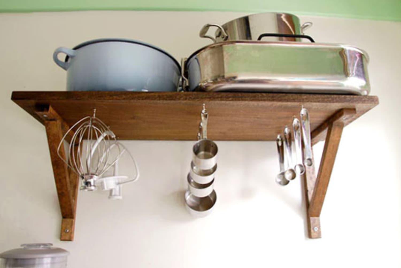 Clever Storage Undershelf Hooks For Kitchenaid