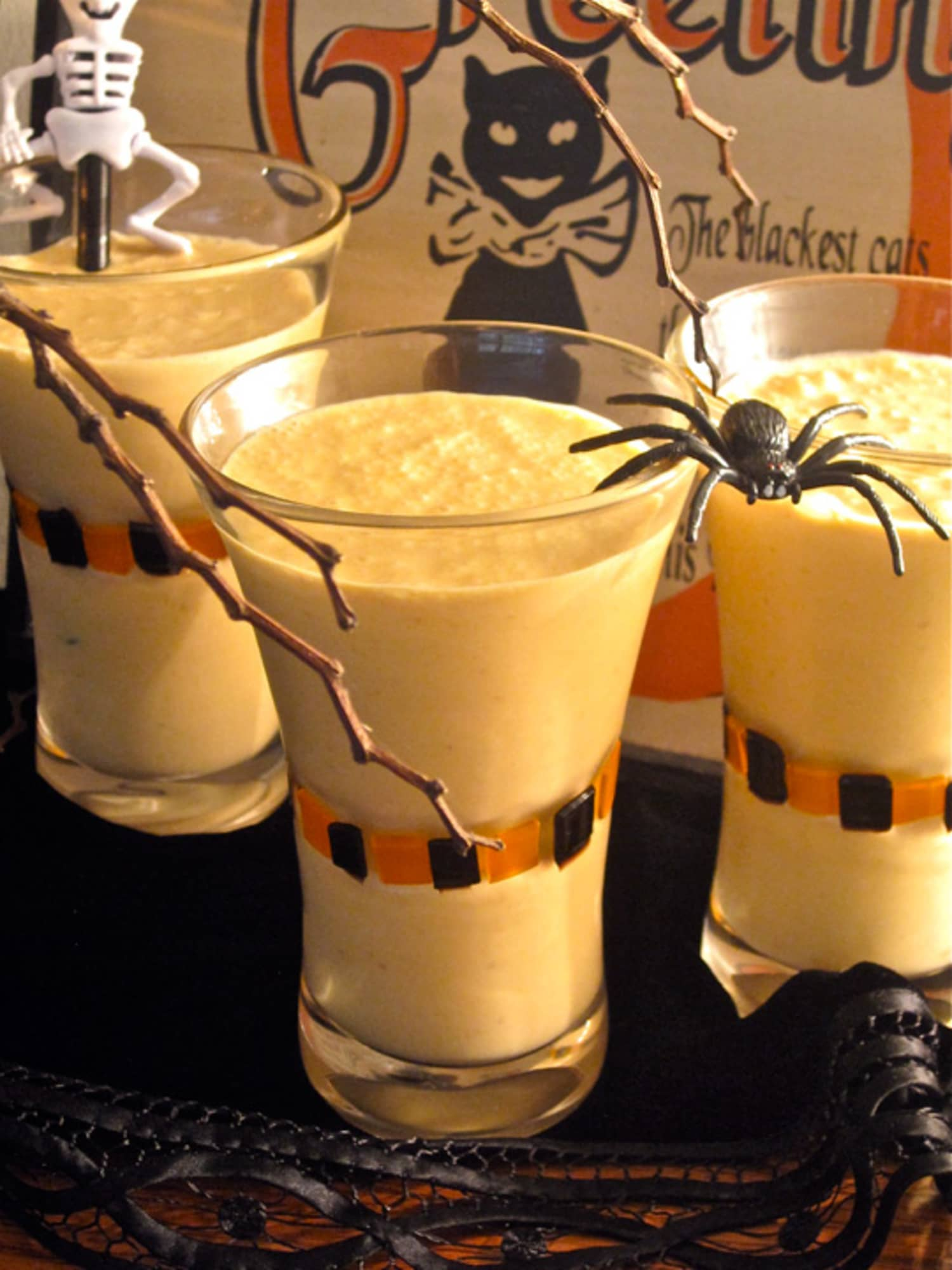 Halloween Happy Hour Recipe Spiked Pumpkin Pie Milkshake