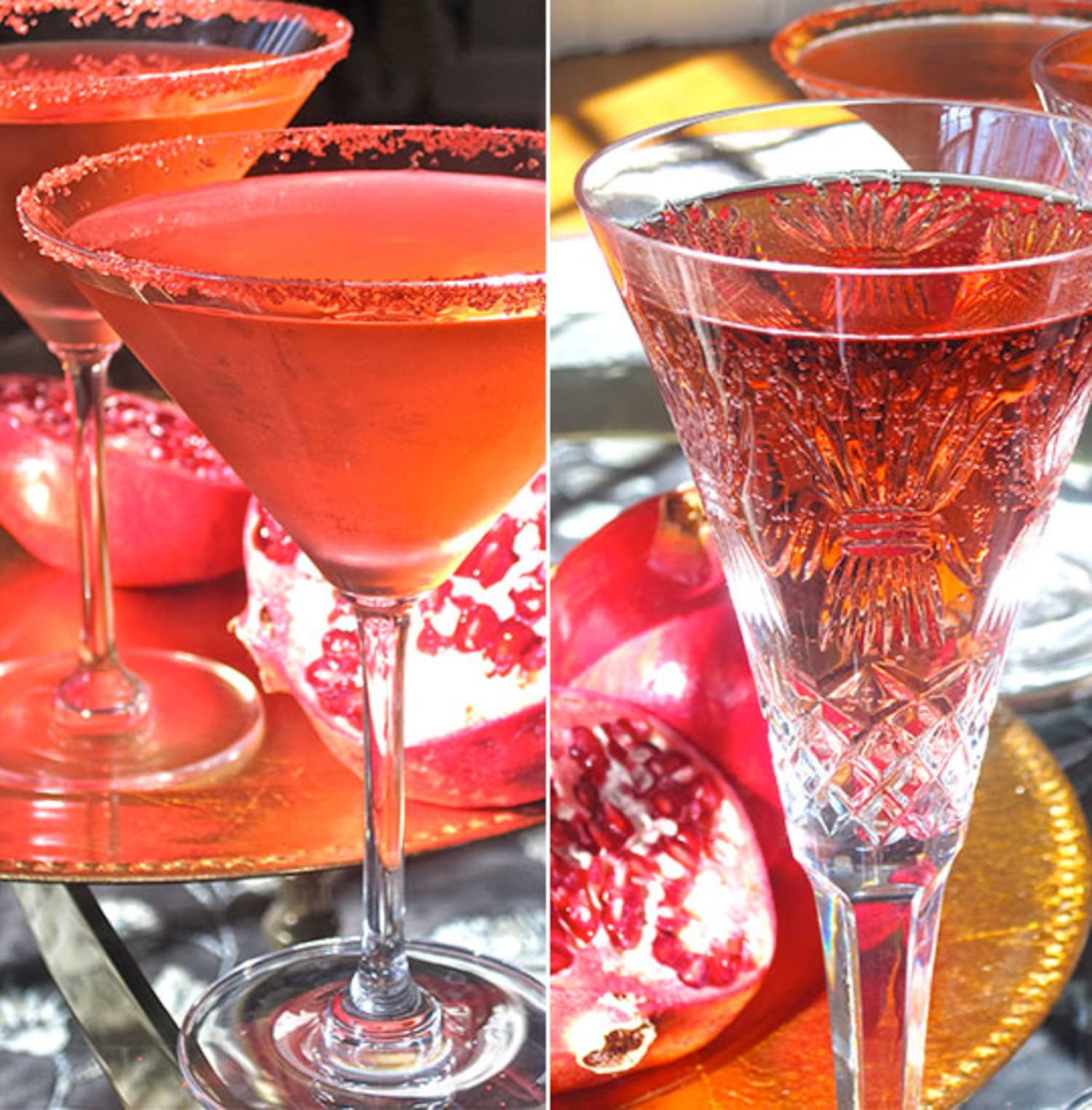 Alcoholic Drink Recipes For Thanksgiving: Easy Thanksgiving Cocktail Recipe: Pomegranate And