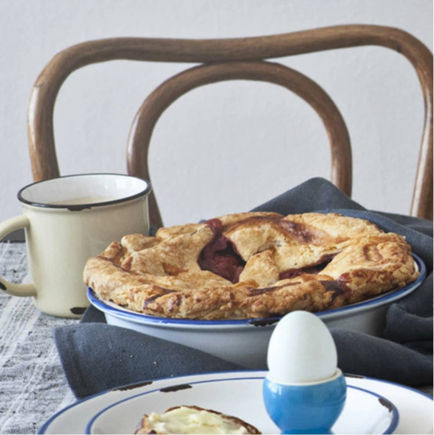 Tinware Ceramic Pie Plate From Canvas Kitchn