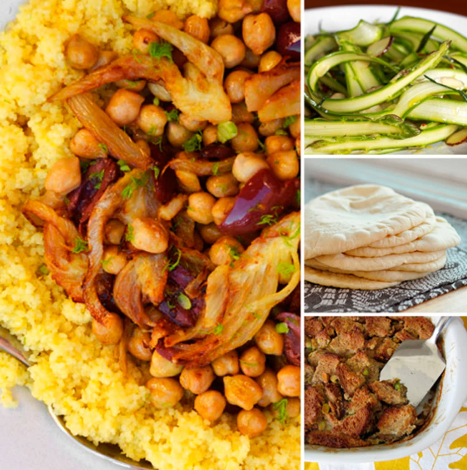 Colorful & Casual: Menu For A Laid-Back Vegetarian Dinner