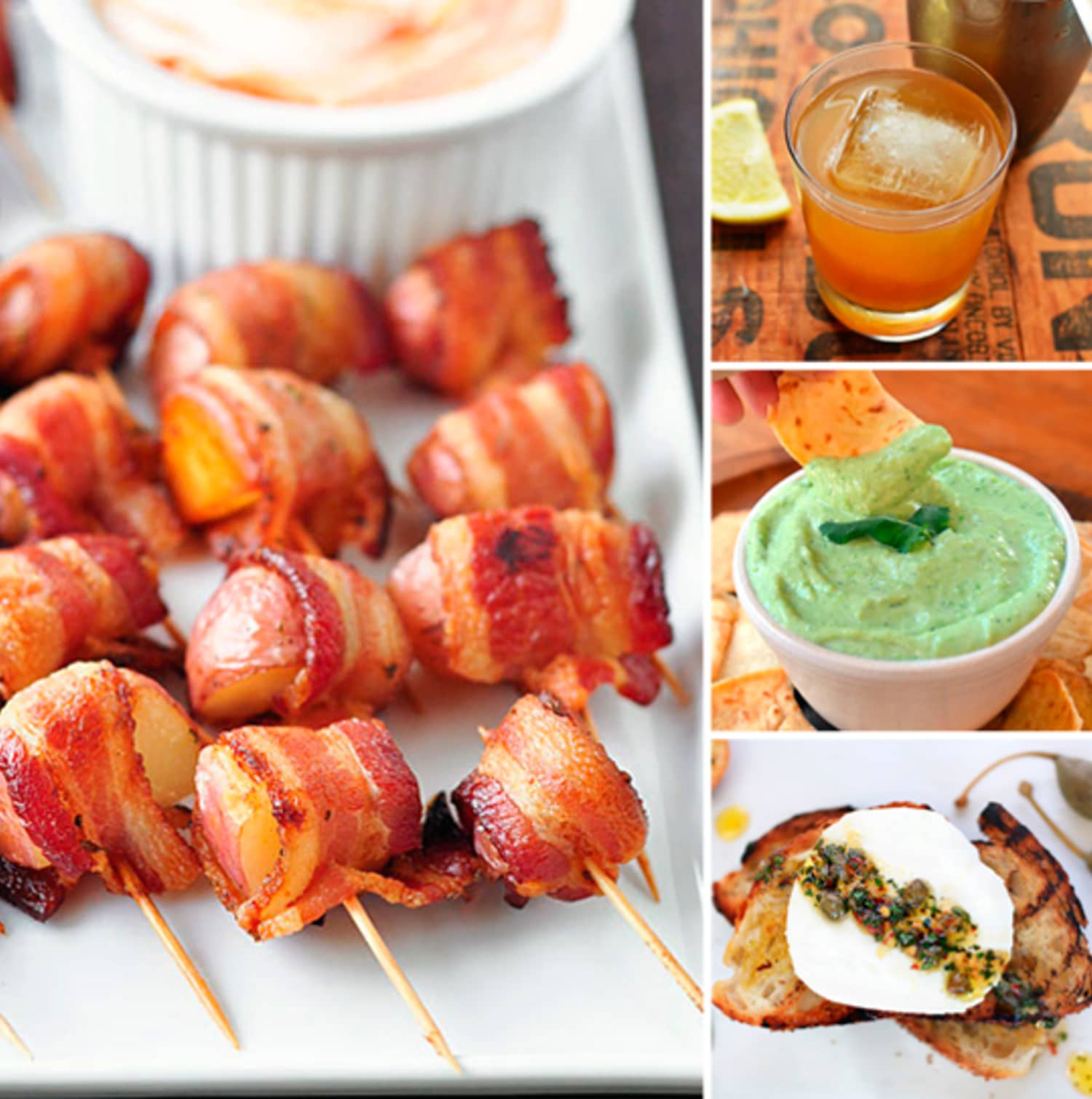 Nibbles & Sips: No-Fuss Menu for a Fancy Cocktail Party | Kitchn