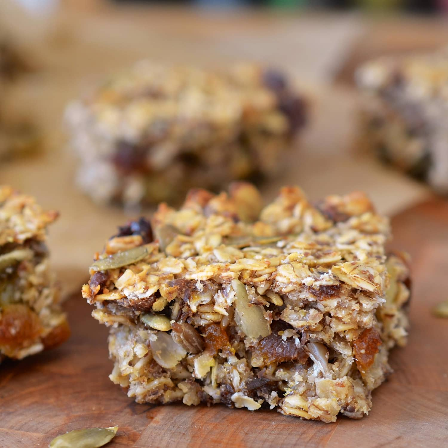 Seed Kitchen And Bar: Recipe: Cakey, Oaty Energy Bars Packed With Fruits & Seeds