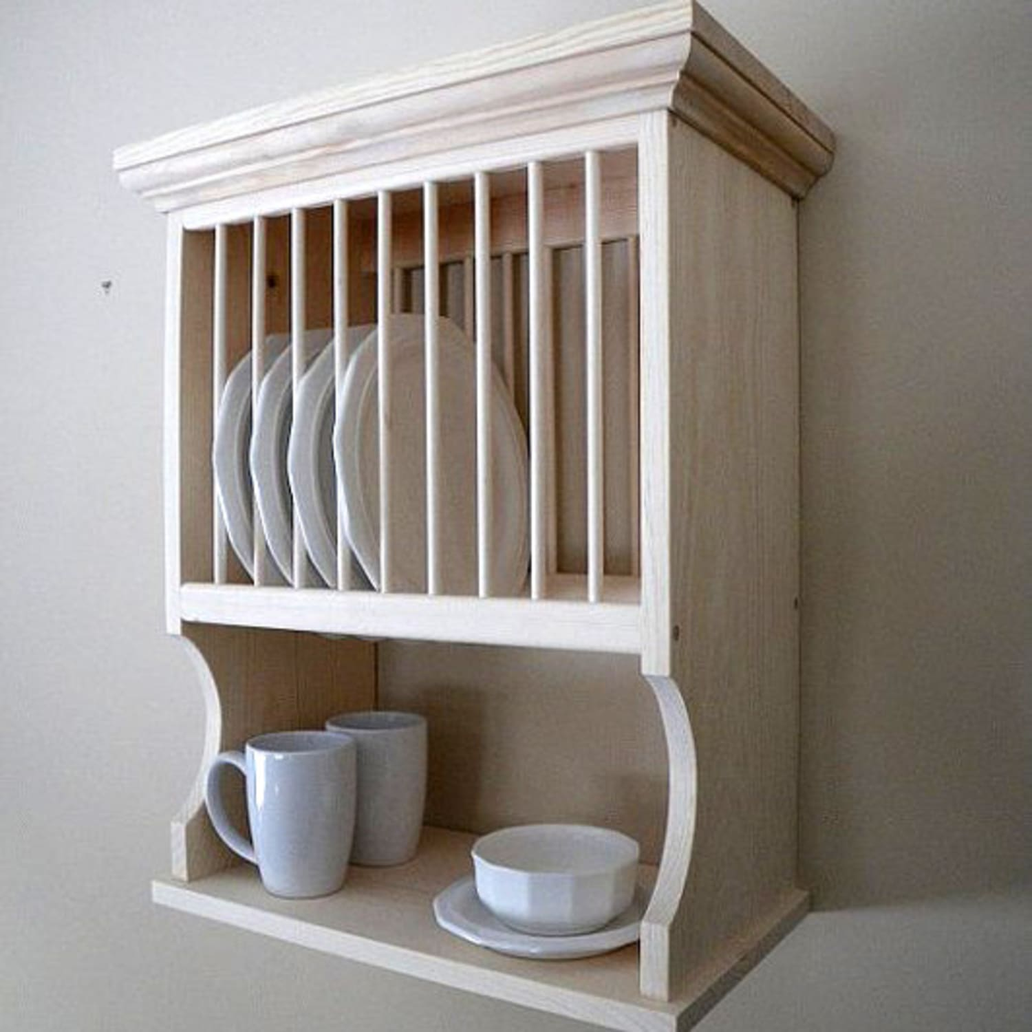 3 Different Wall Mounted Dish Racks What S Your Style