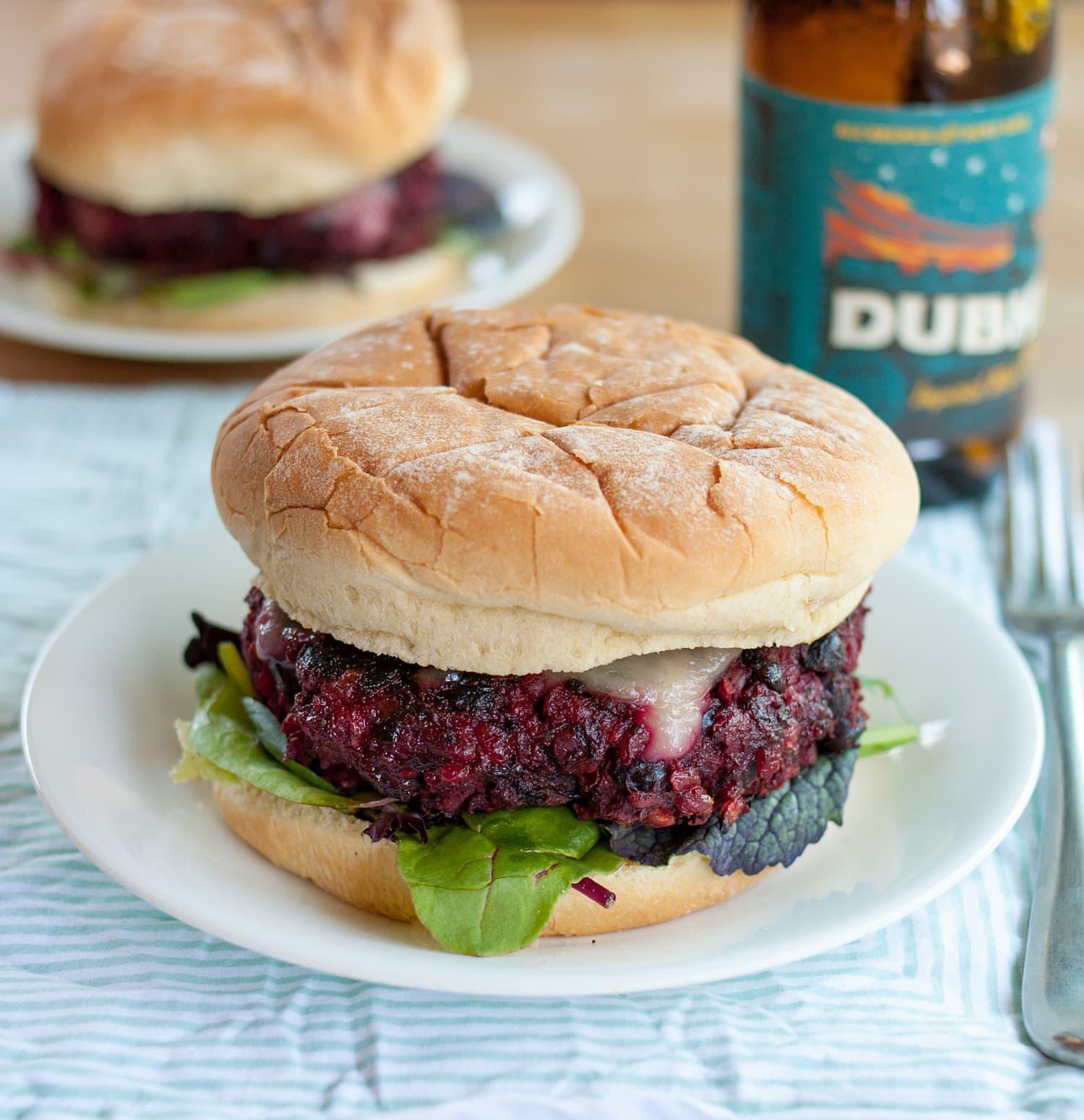 recipe best ever veggie burger kitchn