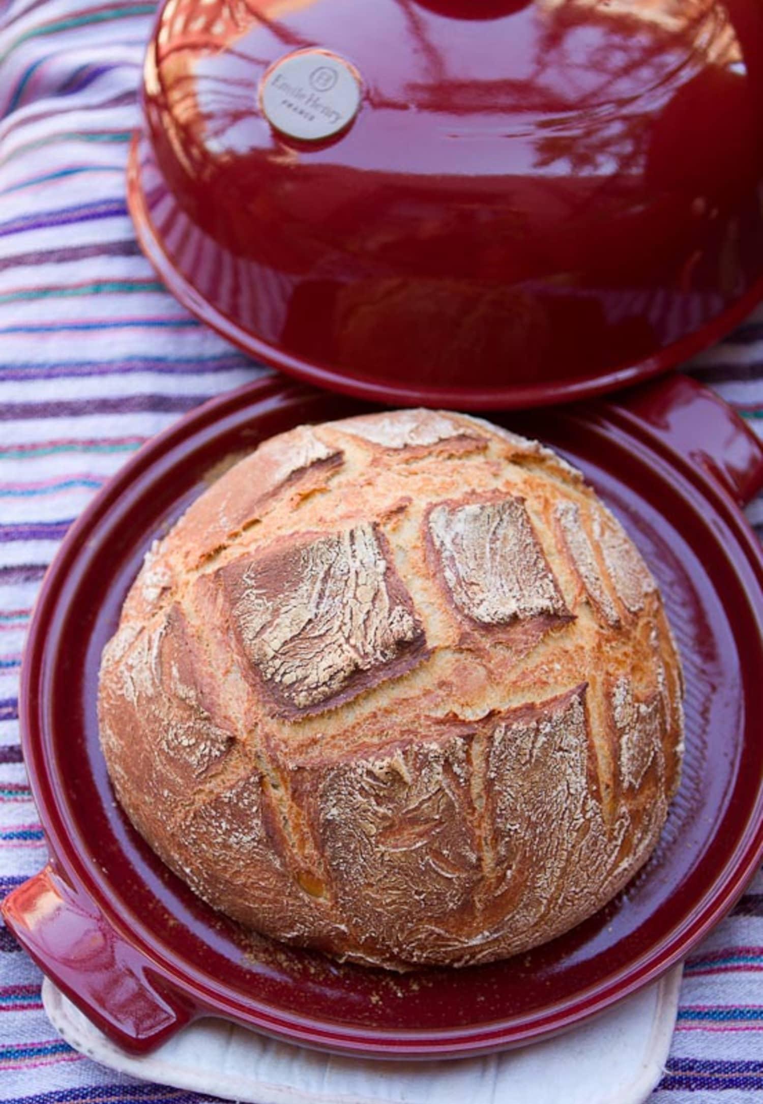 Fall Baking Recipe Rustic White Bread From A Bread Cloche
