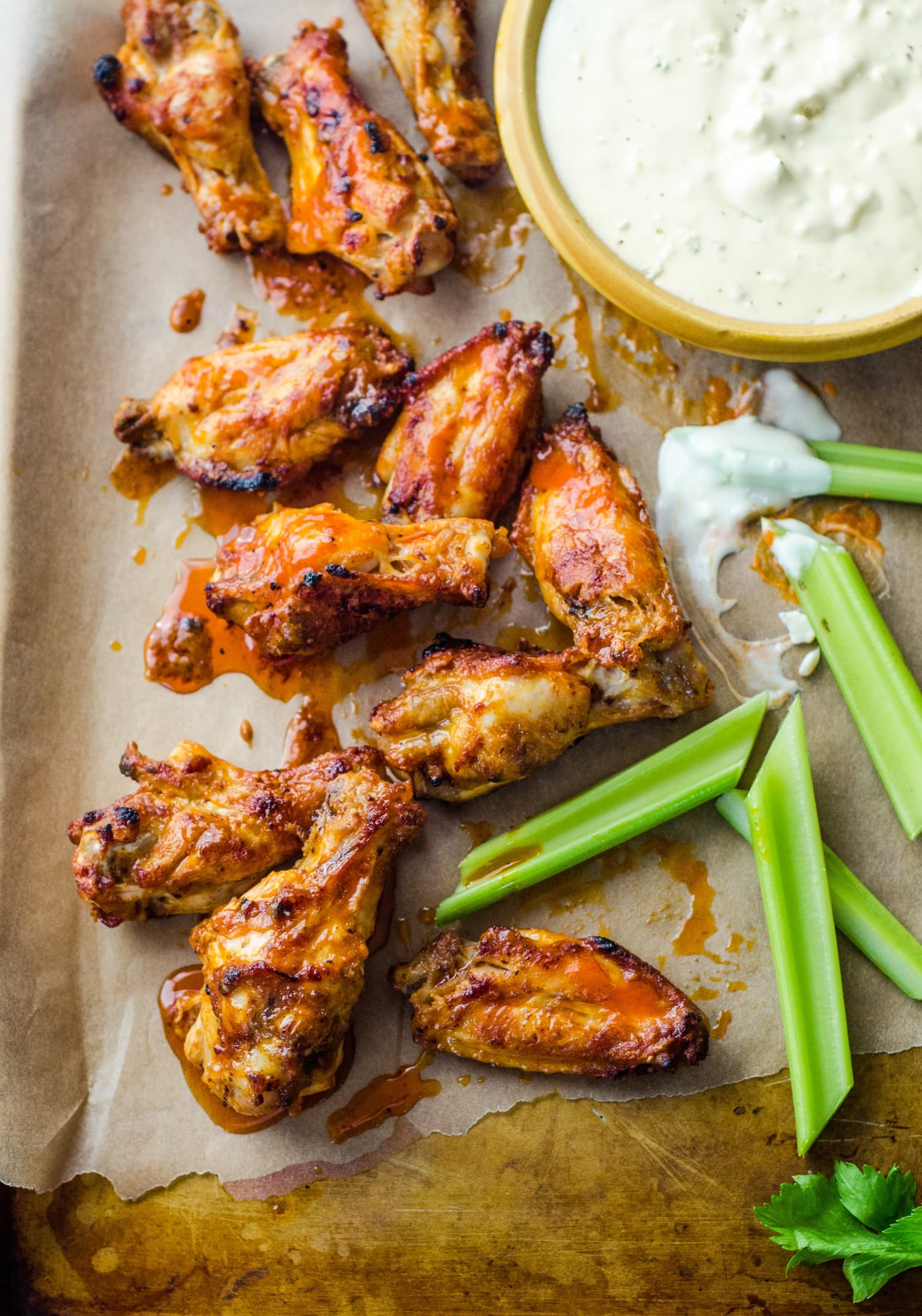 How To Make Buffalo Wings in the Oven