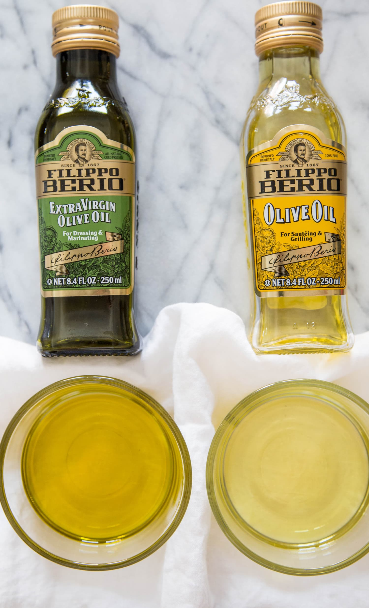 What's the Difference Between Regular Olive Oil and Extra