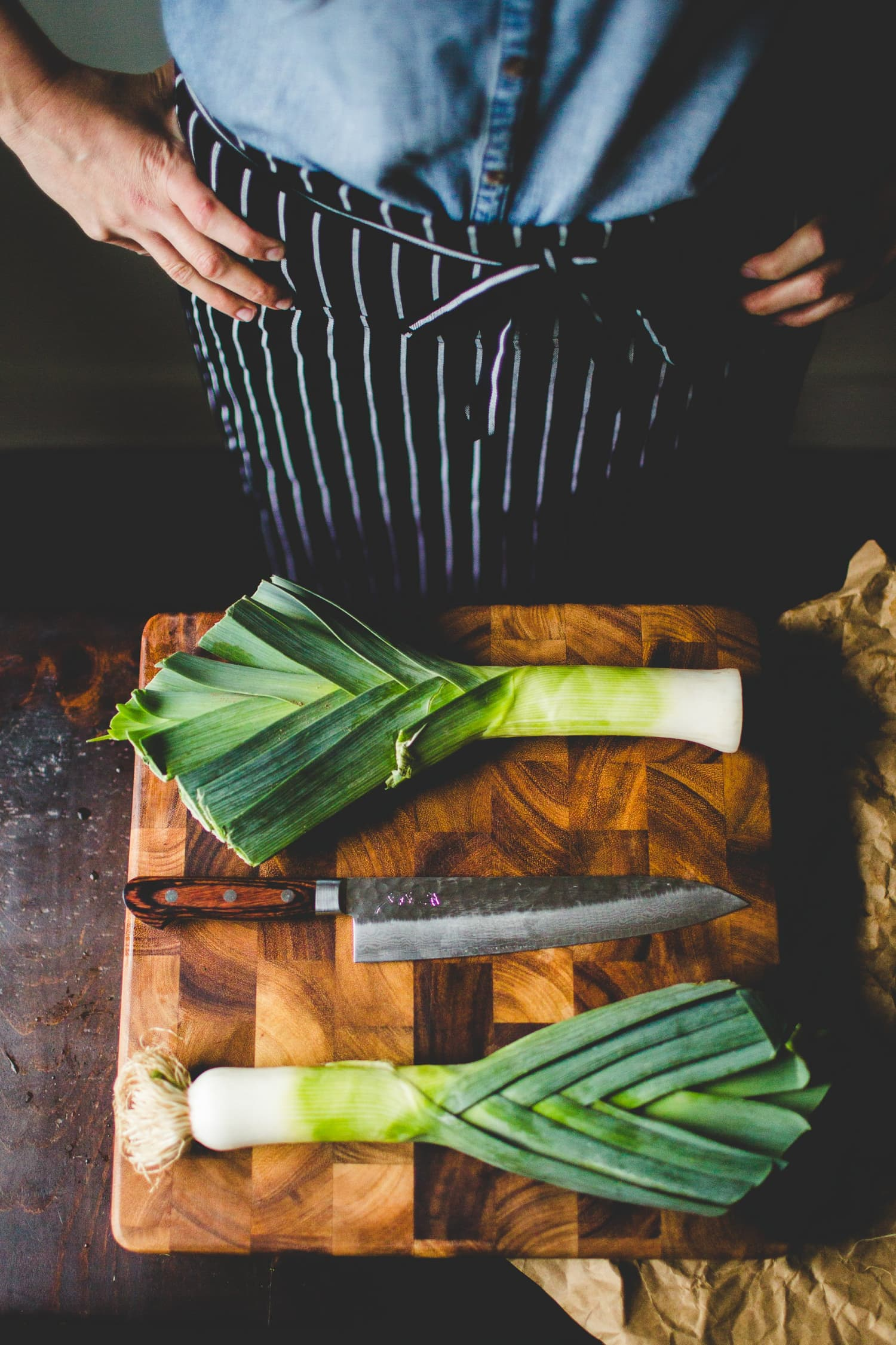The Vegetable Butcher S Favorite Way To Eat Leeks All By Themselves Kitchn