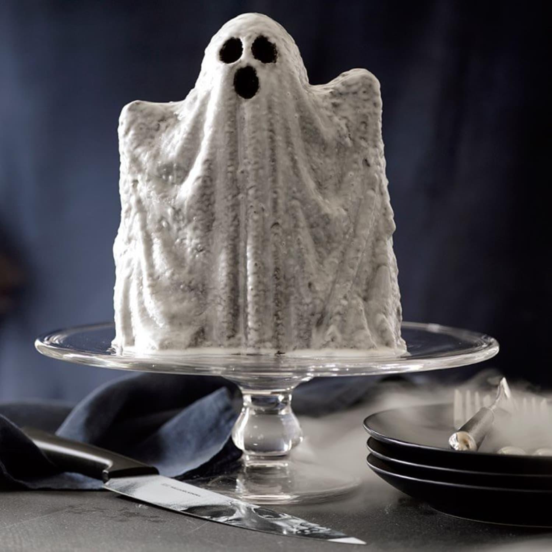 Halloween Treat {Best Lemon Coconut Pound Cake + Favorite ...  |Halloween Baking Pans