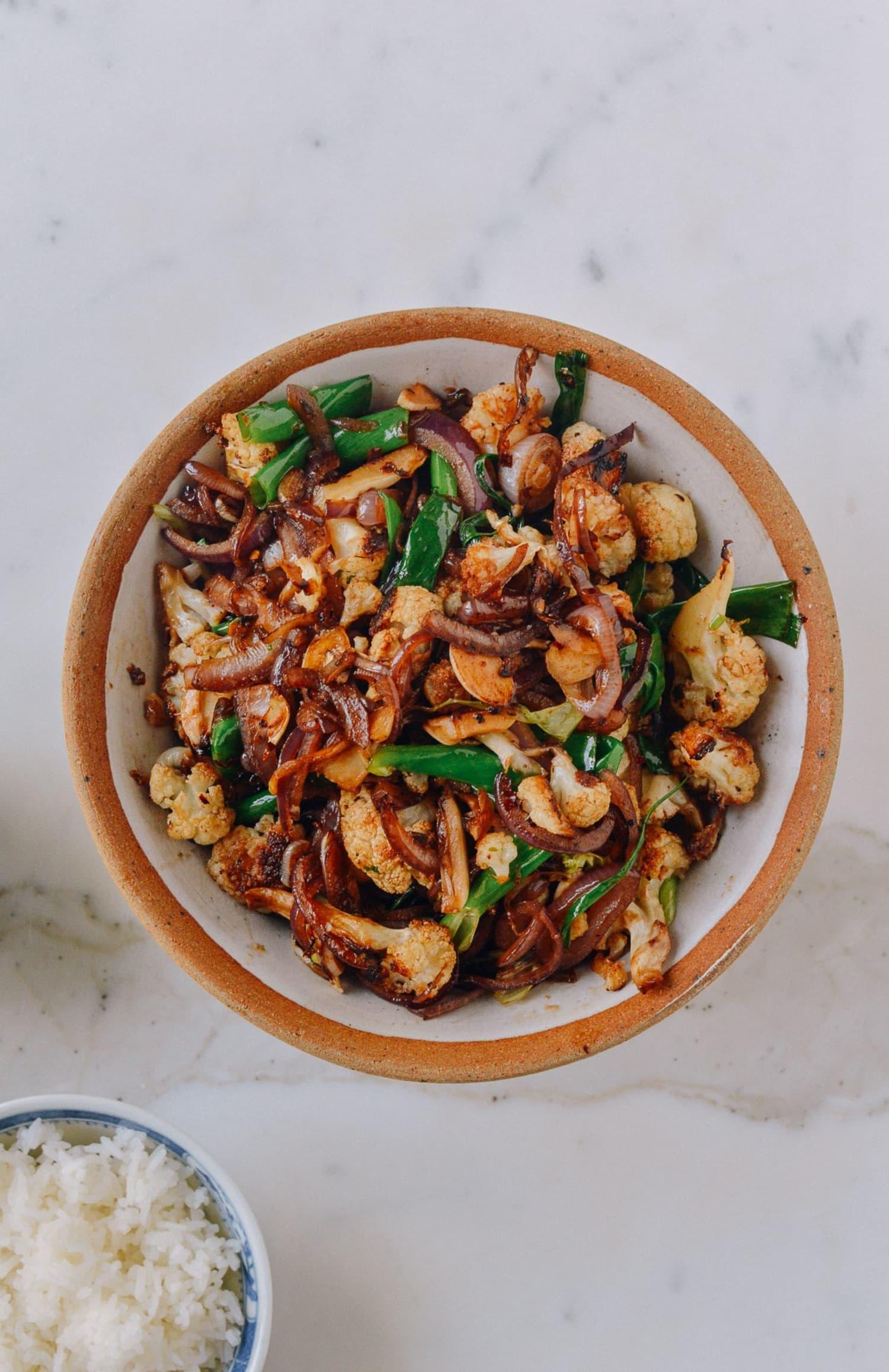 Recipe Spicy Cauliflower Stir Fry Kitchn