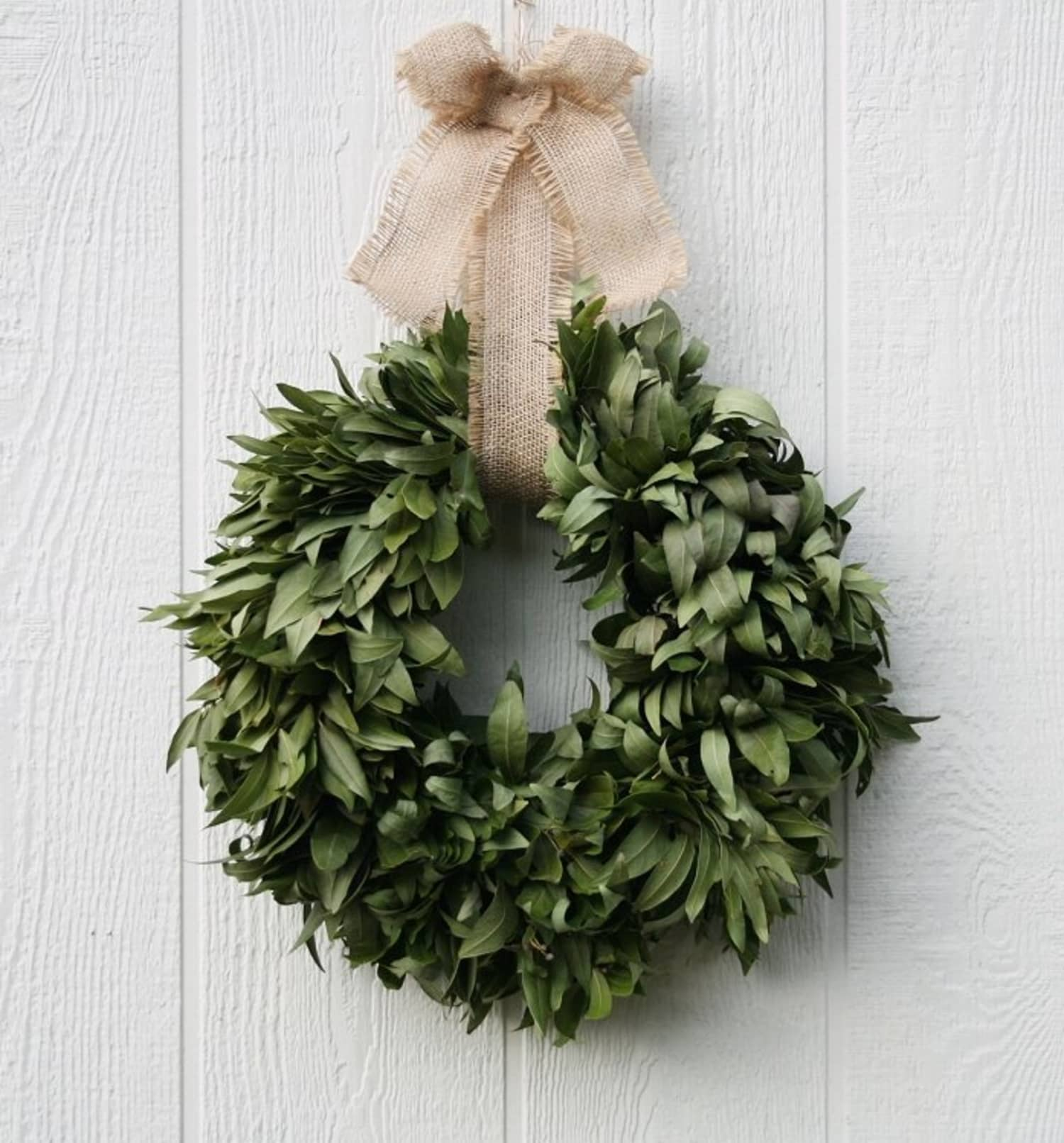 Hang A Bay Wreath For Christmas And Enjoy It All Year Long Kitchn