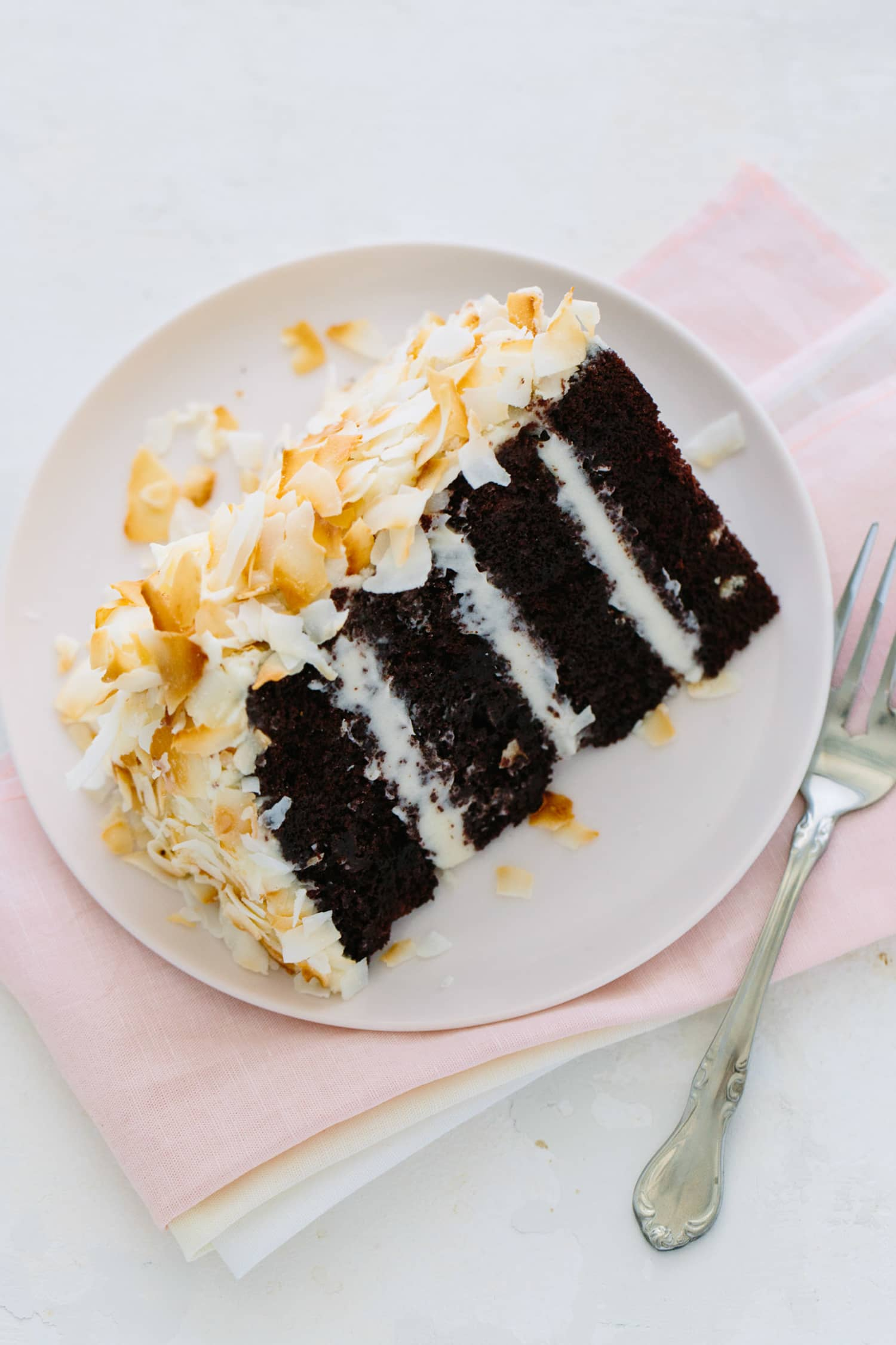 Recipe Chocolate Coconut Cake Kitchn