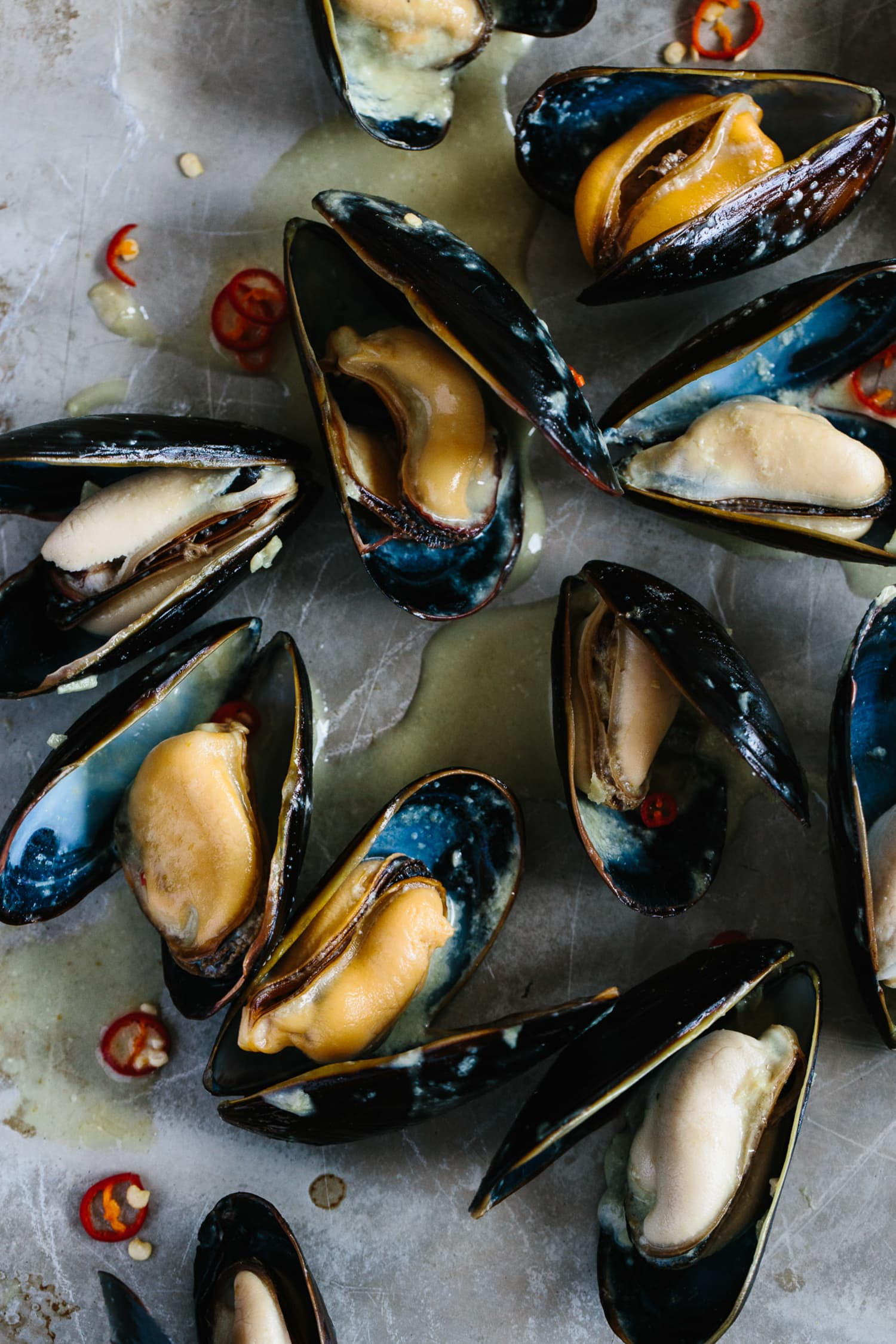 Recipe Coconut Thai Green Curry Mussels Kitchn