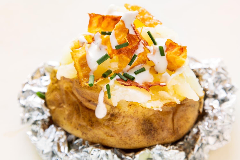 Bacon Ranch Loaded Baked Potato Kitchn