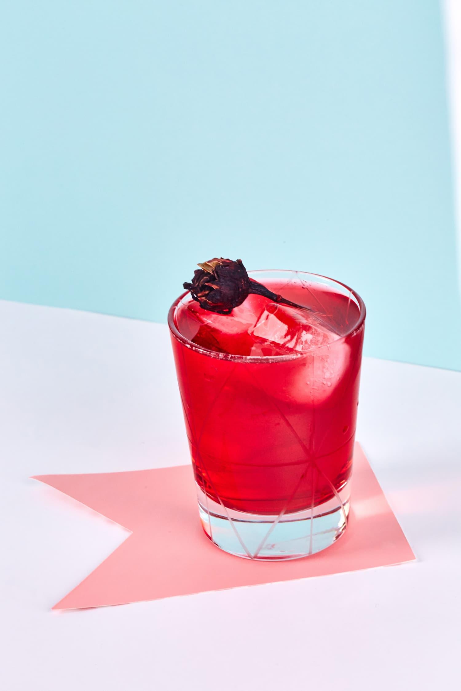 Recipe 3 Ingredient Sparkling Hibiscus Mocktail Kitchn