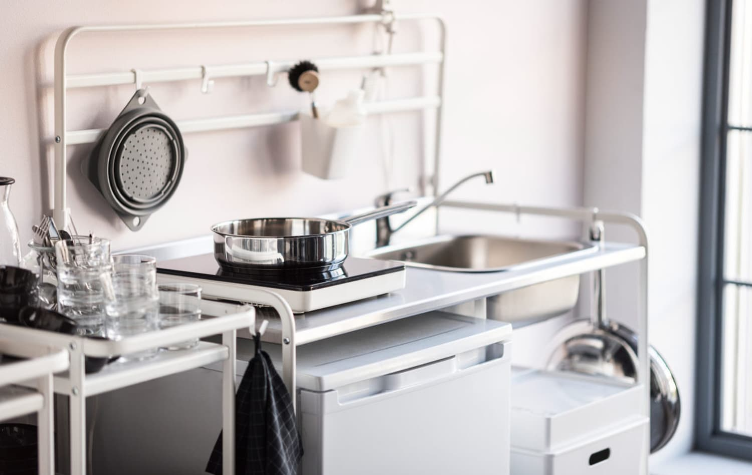 An honest review of ikea 39 s sunnersta mini sink kitchn - Cucine monoblocco ikea ...