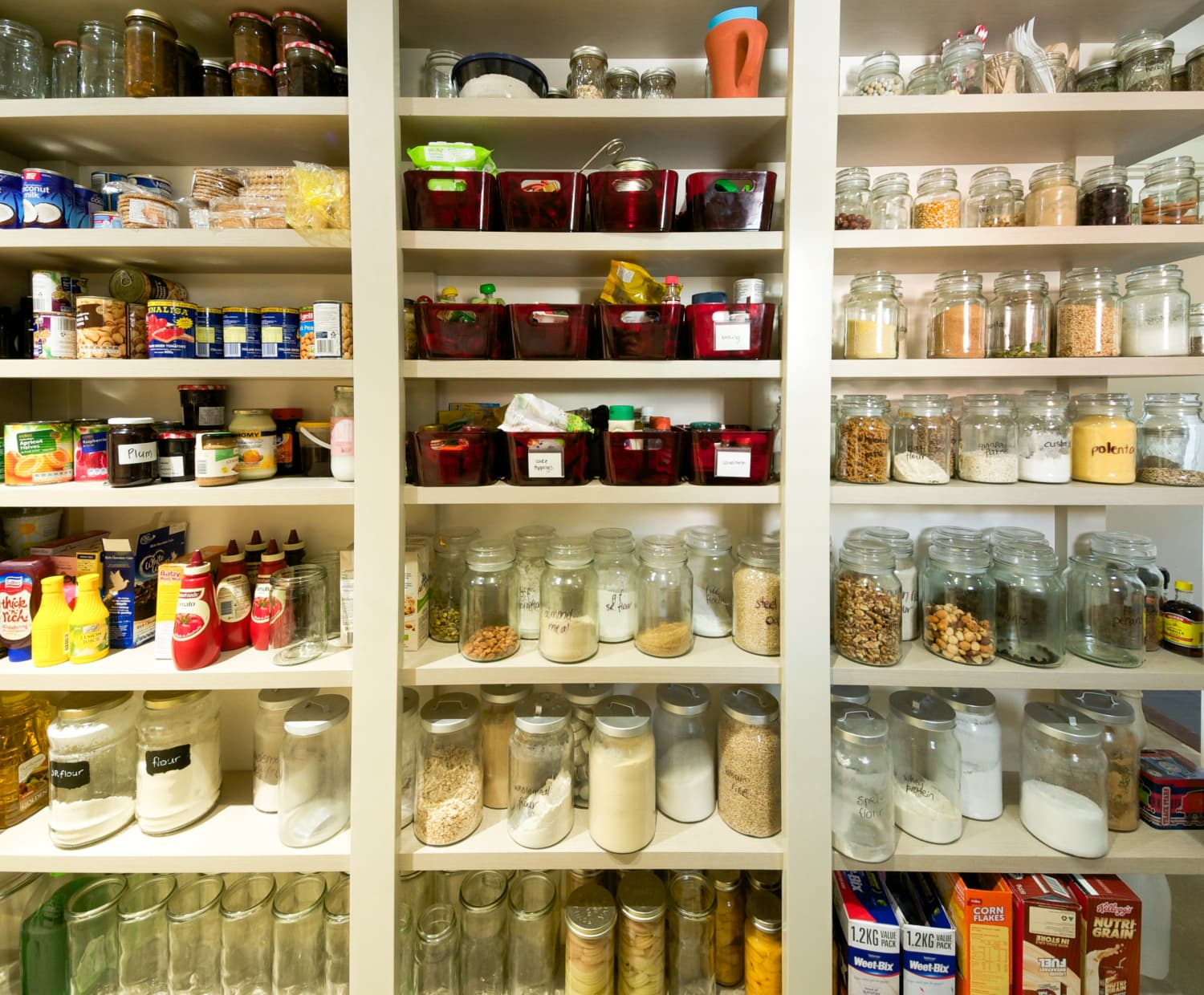 building a pantry cabinet storage ideas | 8 Smart Storage Ideas For Little Pantries | Kitchn