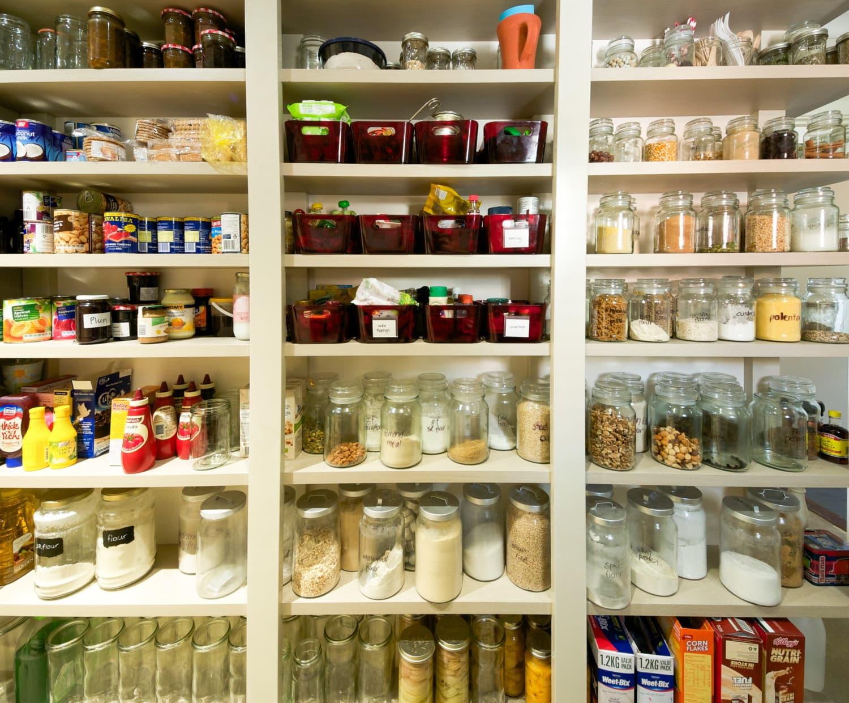 8 Smart Storage Ideas For Little Pantries