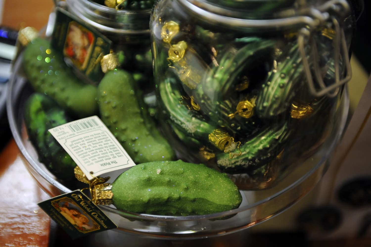 Pickle Christmas Tree Ornaments Special Meaning