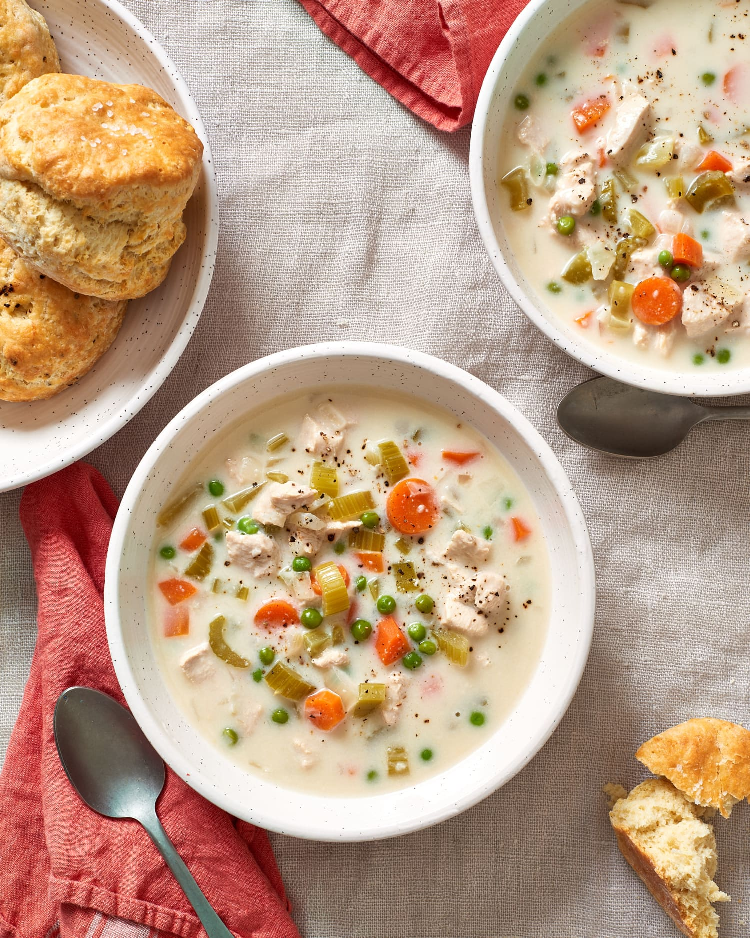Creamy Chicken Soup From The Slow Cooker