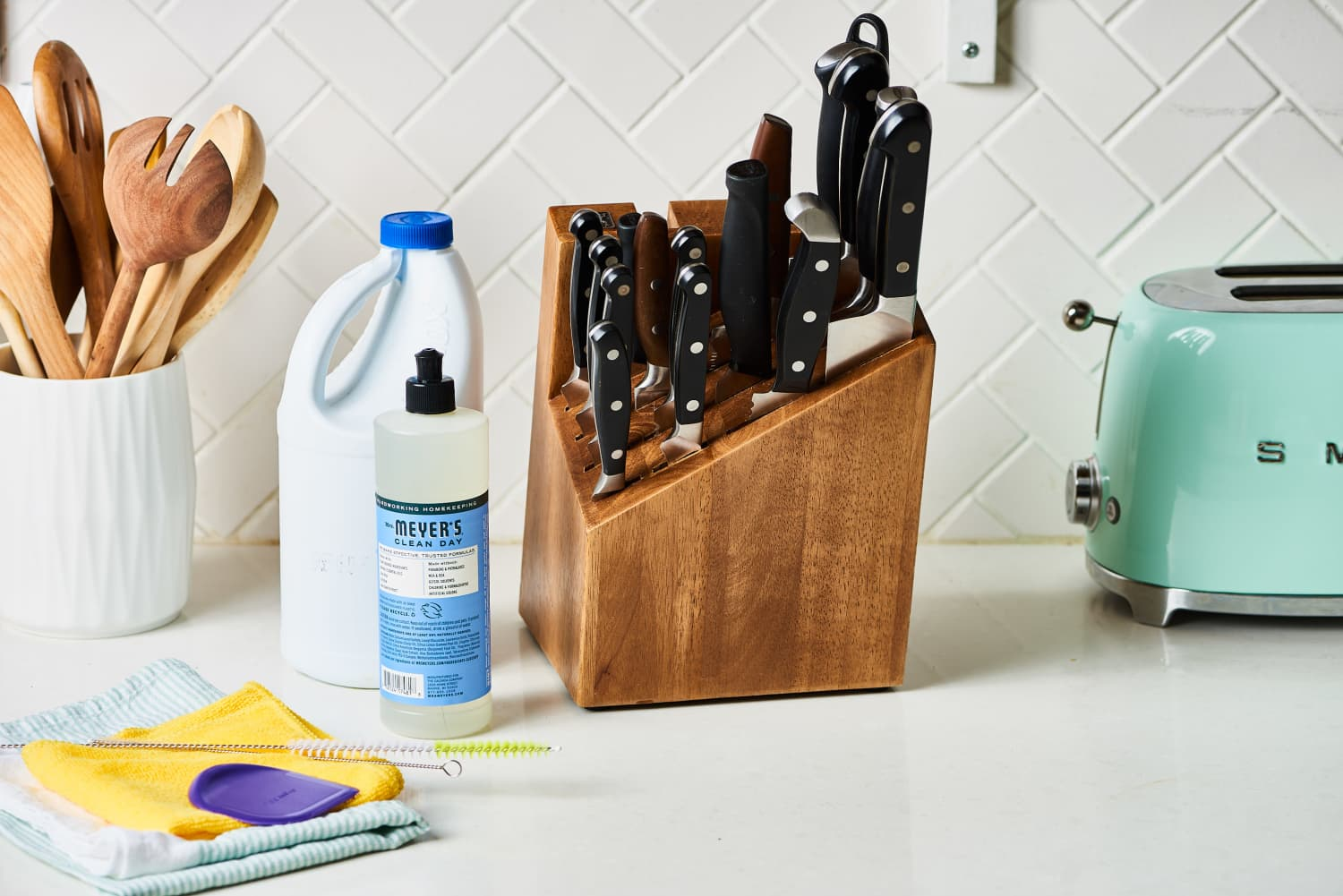 How To Clean A Wooden Knife Block Kitchn