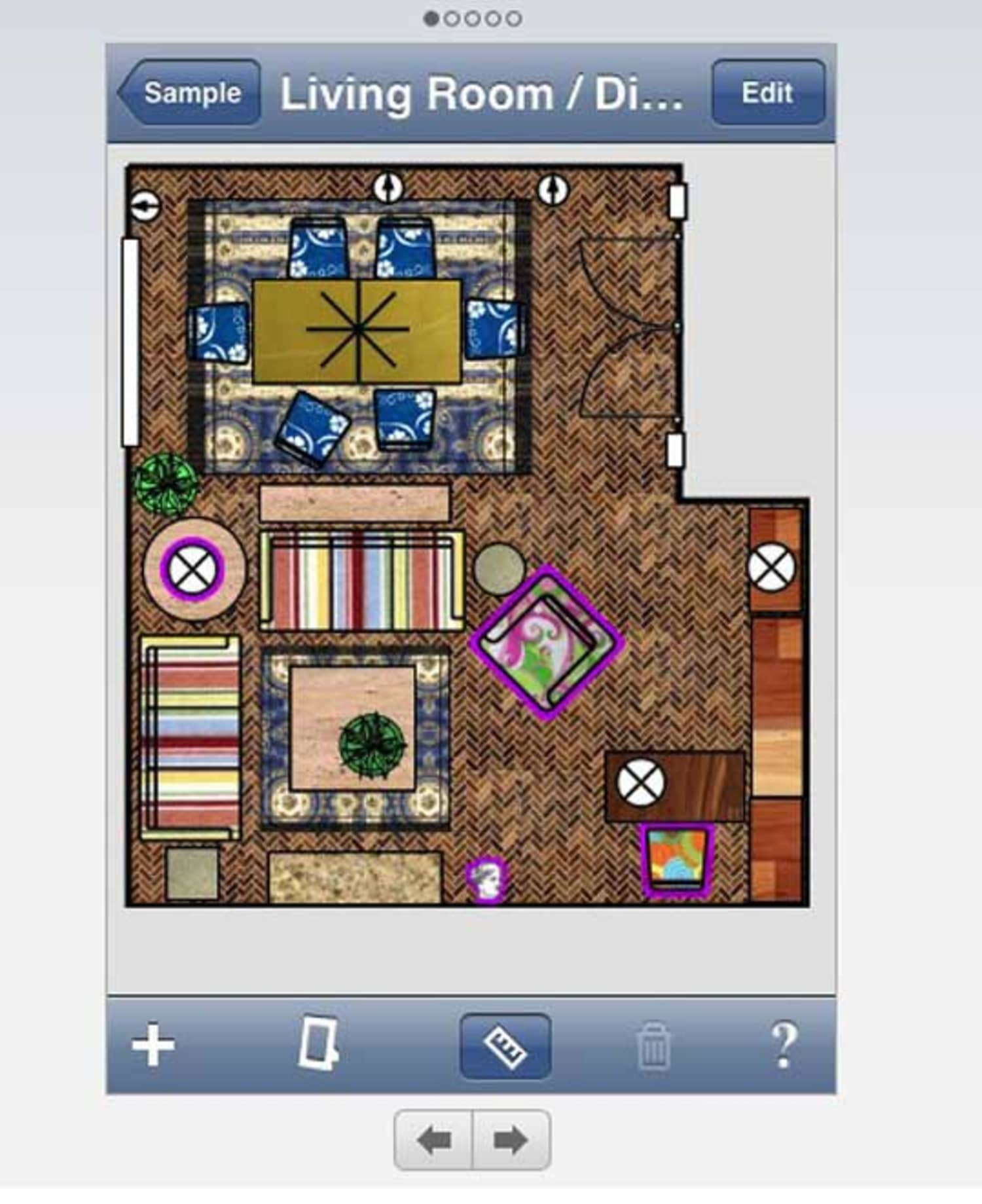 Home Design Ideas App: Mark On Call: An IPhone App To Help Design Your Space