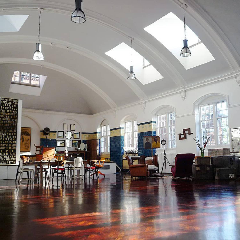 Mid Century Modern Los Angeles Apartment: Renovation Education: A School Turned Apartment