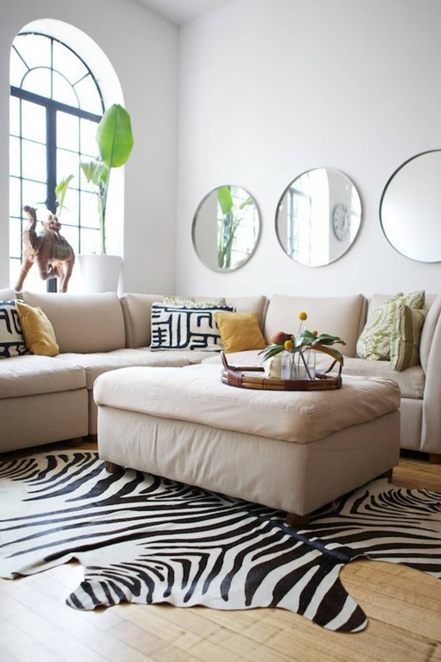 Get The Look 9 Round Mirrors Under 200 Apartment Therapy