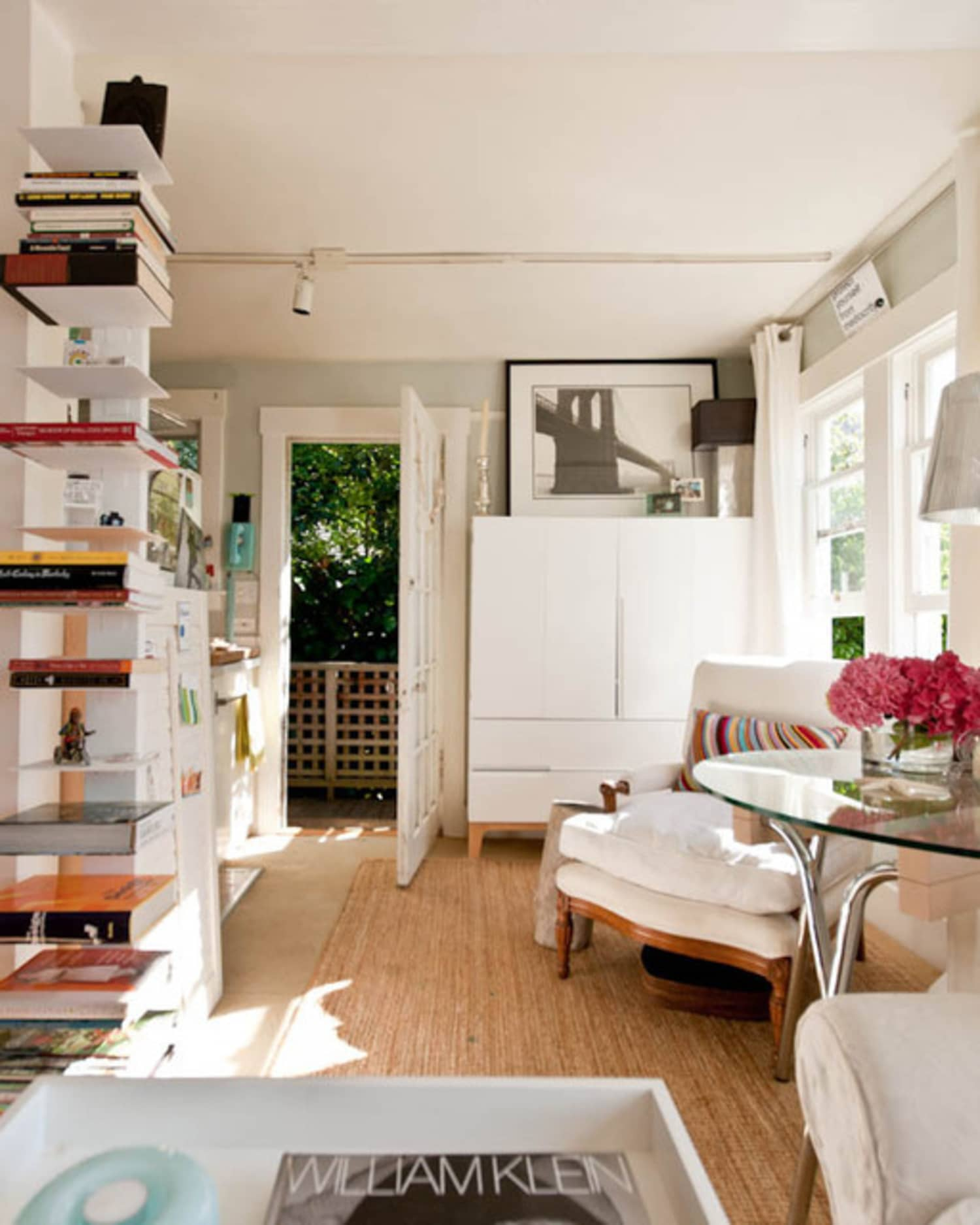 Small Living Room Apartment Therapy: Small Space Storage: 8 Ways To Go Vertical