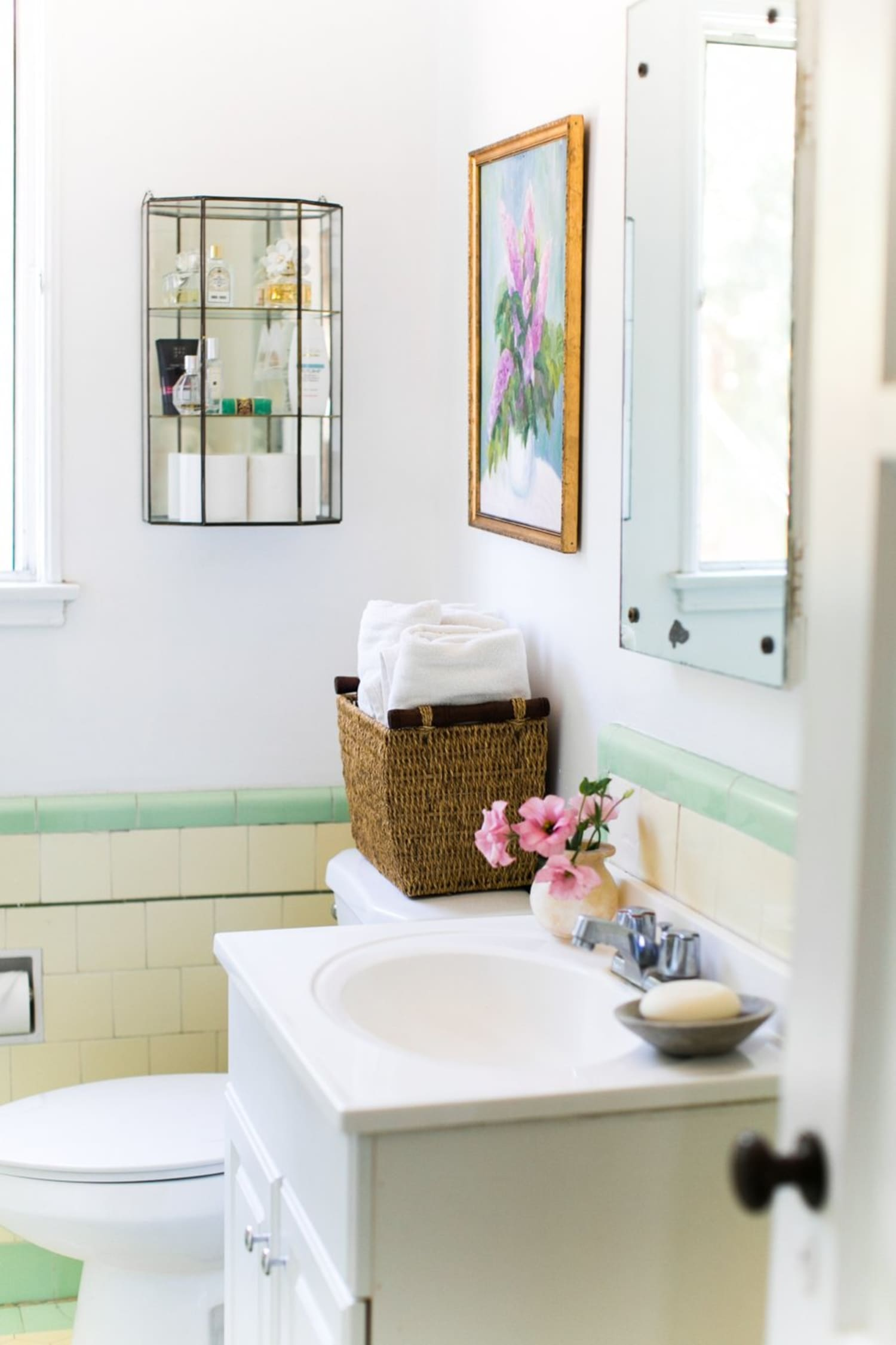 11 Essential Organizing Products for a Small Bathroom ... on Small Apartment Bathroom  id=42462