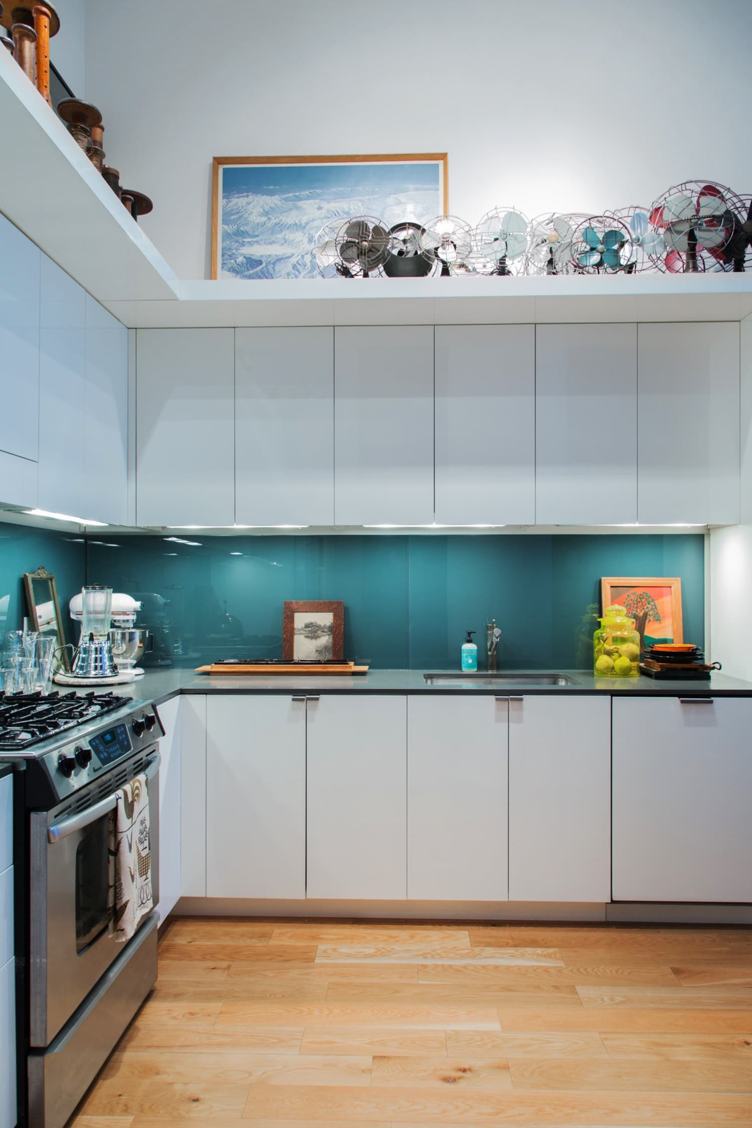 Glass Kitchen Backsplash Ideas