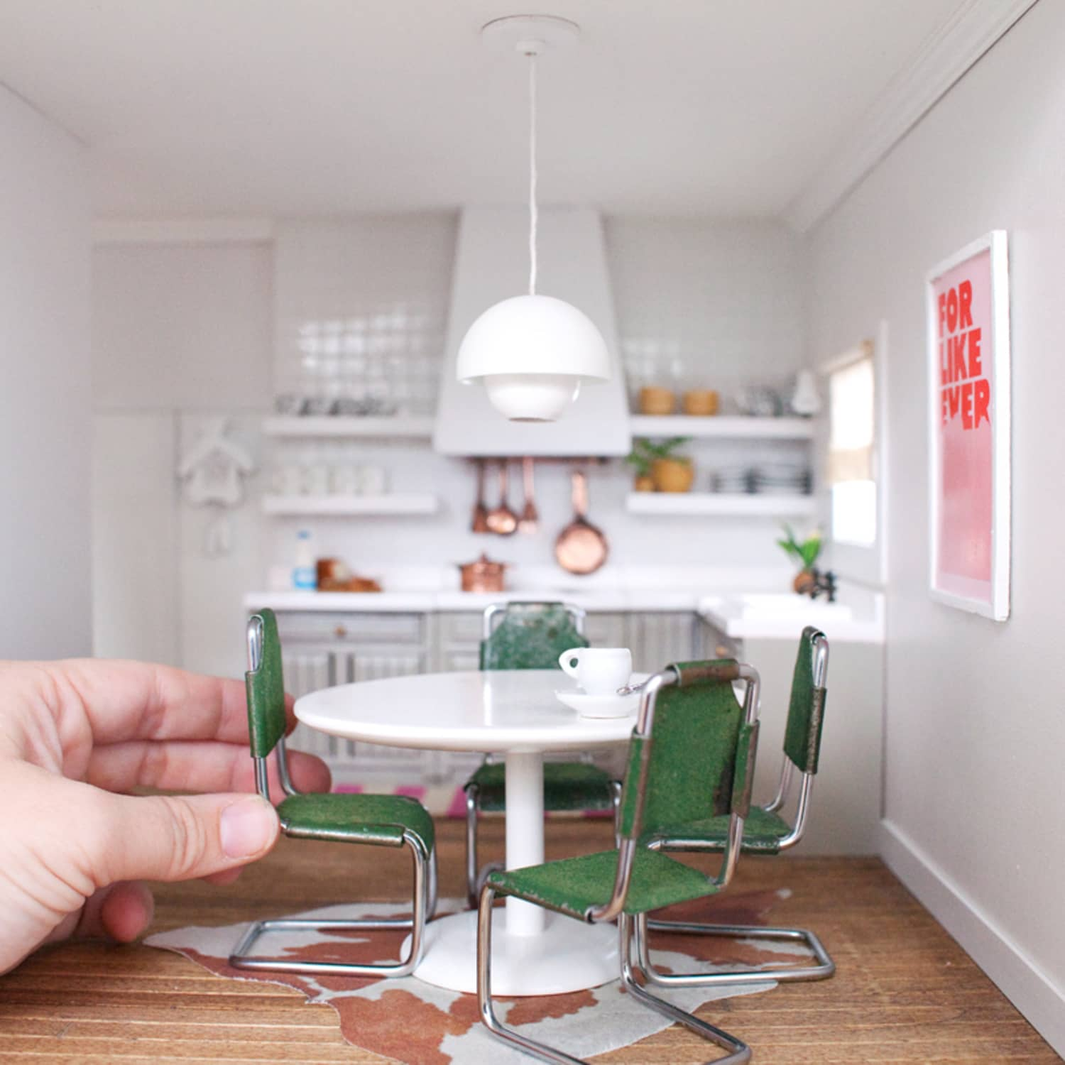 Mid Century Modern Los Angeles Apartment: Dollhouses That Ll Give You Serious Design Envy