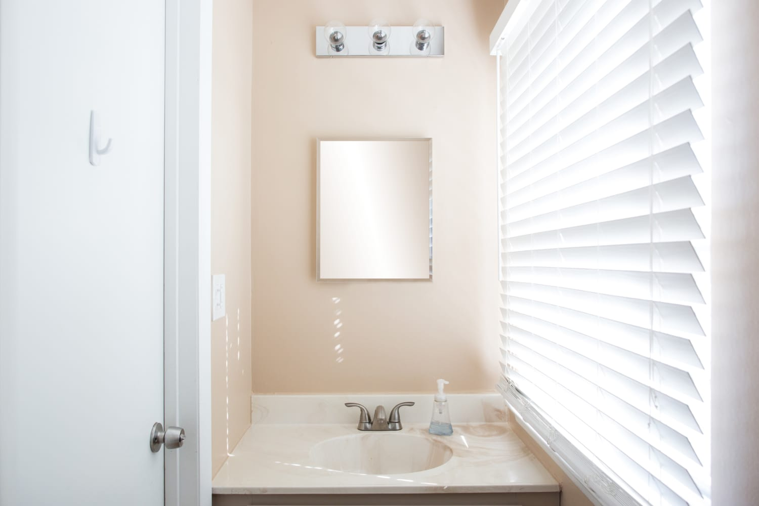 Renter Solutions For Bad Chrome Bathroom Light Fixtures