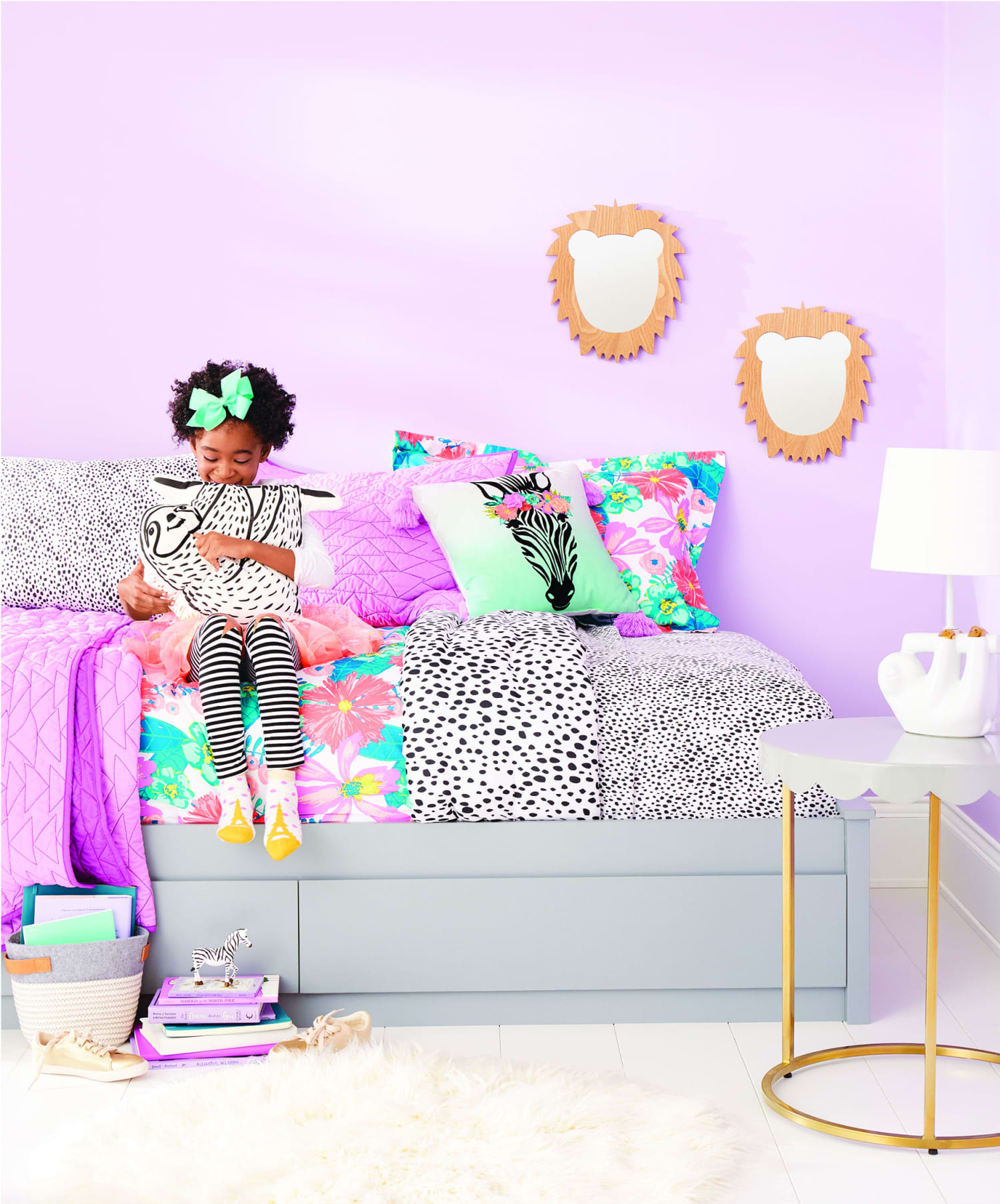 7 Amazing Bedroom Decorating Trends To Watch For 2018: Pillowfort 2018 Spring Collection, Target Kid Furniture