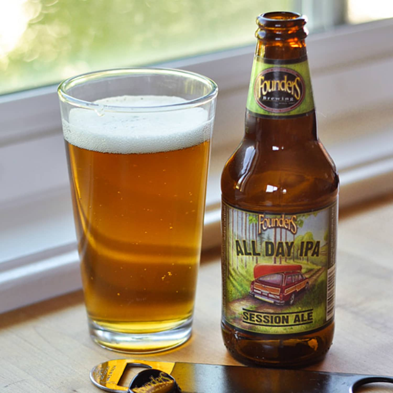 Beer Review All Day Ipa Session Ale From Founders Brewing Kitchn