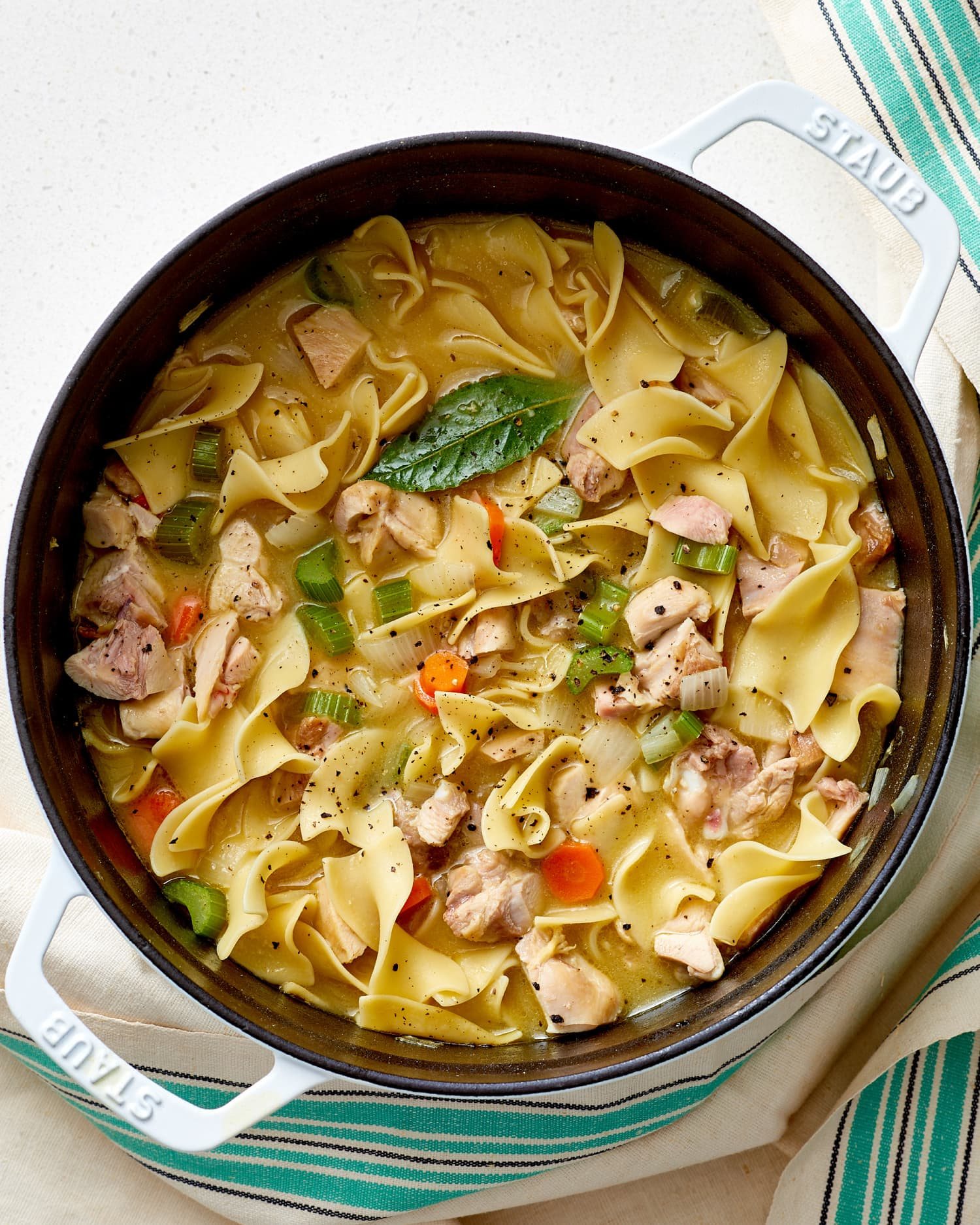the best easy homemade chicken noodle soup recipe   kitchn